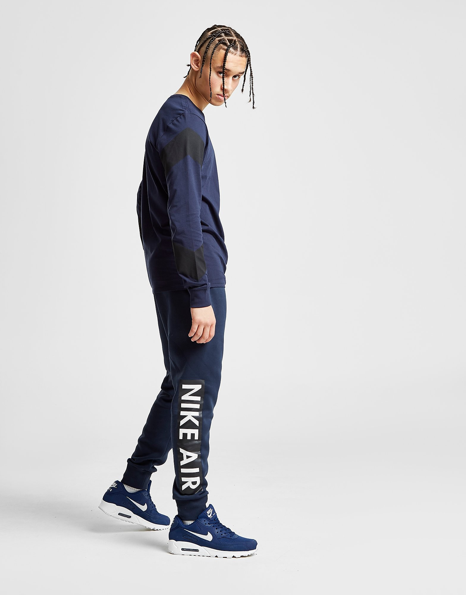 Nike Air Logo Track Pants Heren - Blauw - Heren