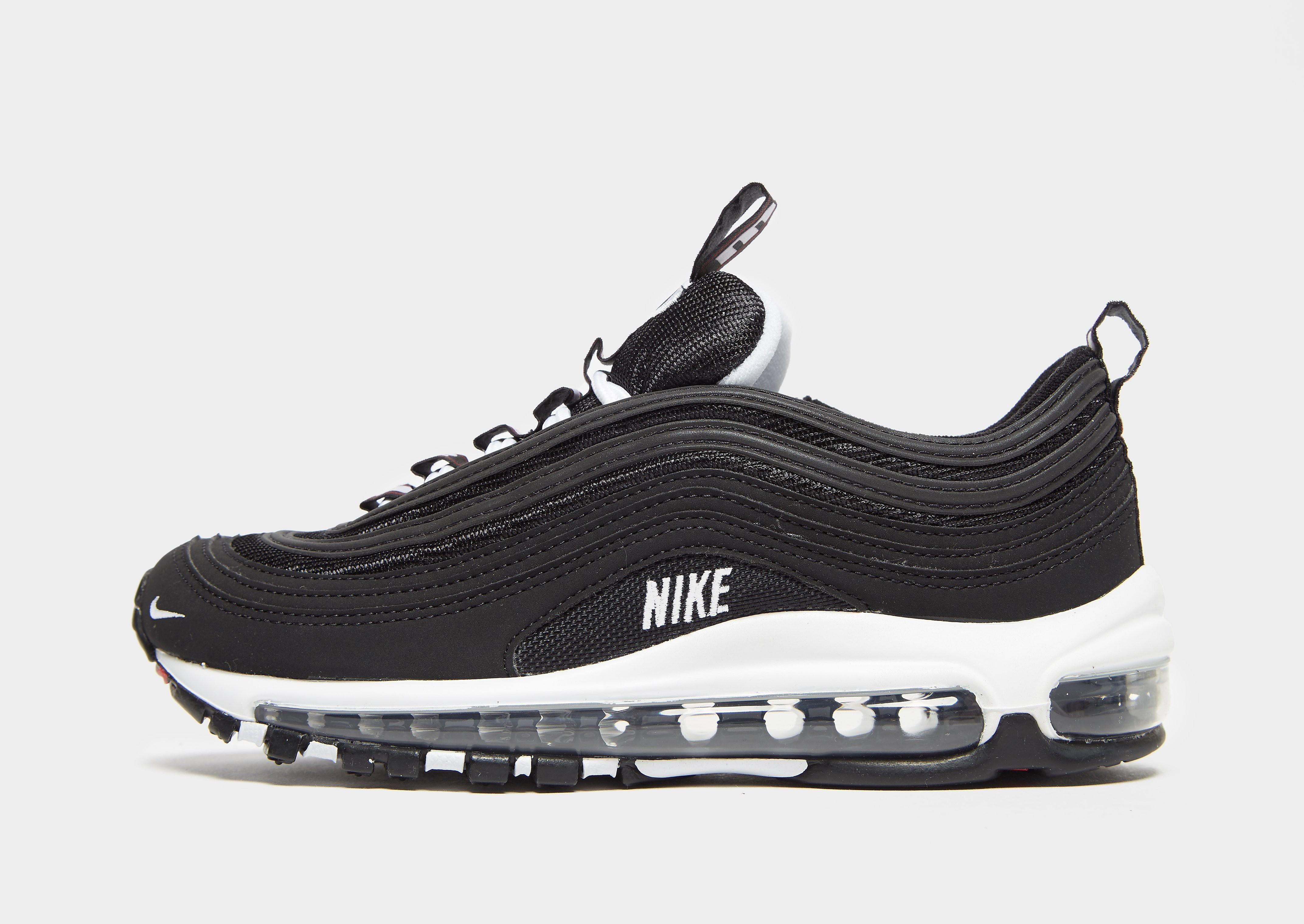 Nike Air Max 97 kindersneaker zwart en rood