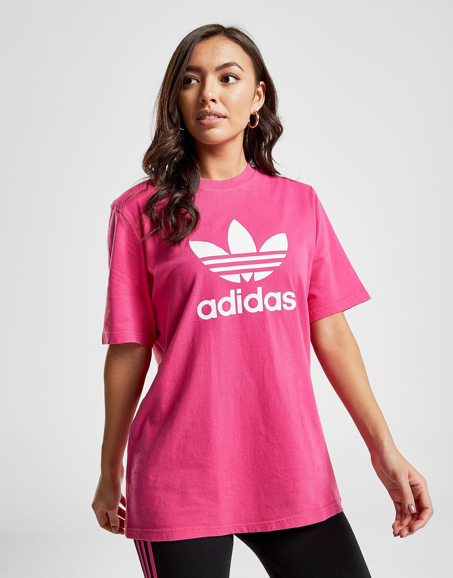 adidas Originals Trefoil T-Shirt - Roze - Dames