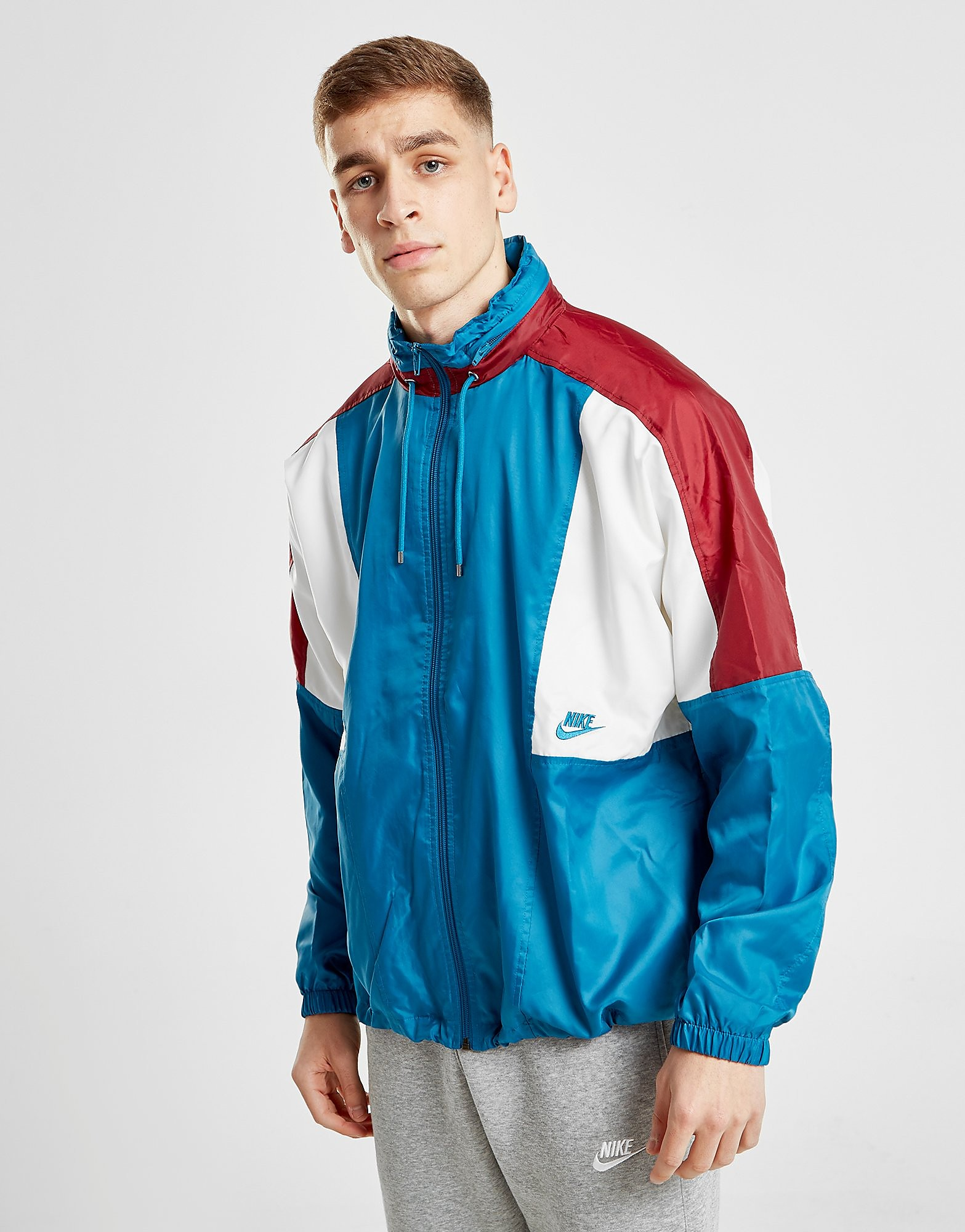 Nike Reissue Woven Lightweight Jacket - Blauw - Heren
