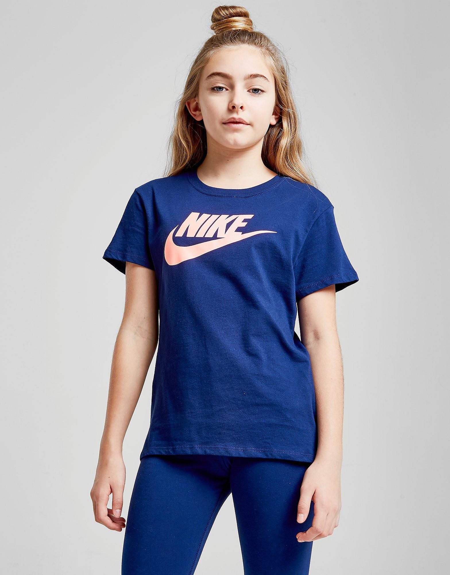 Nike Girls' Futura T-Shirt Junior - Blauw - Kind