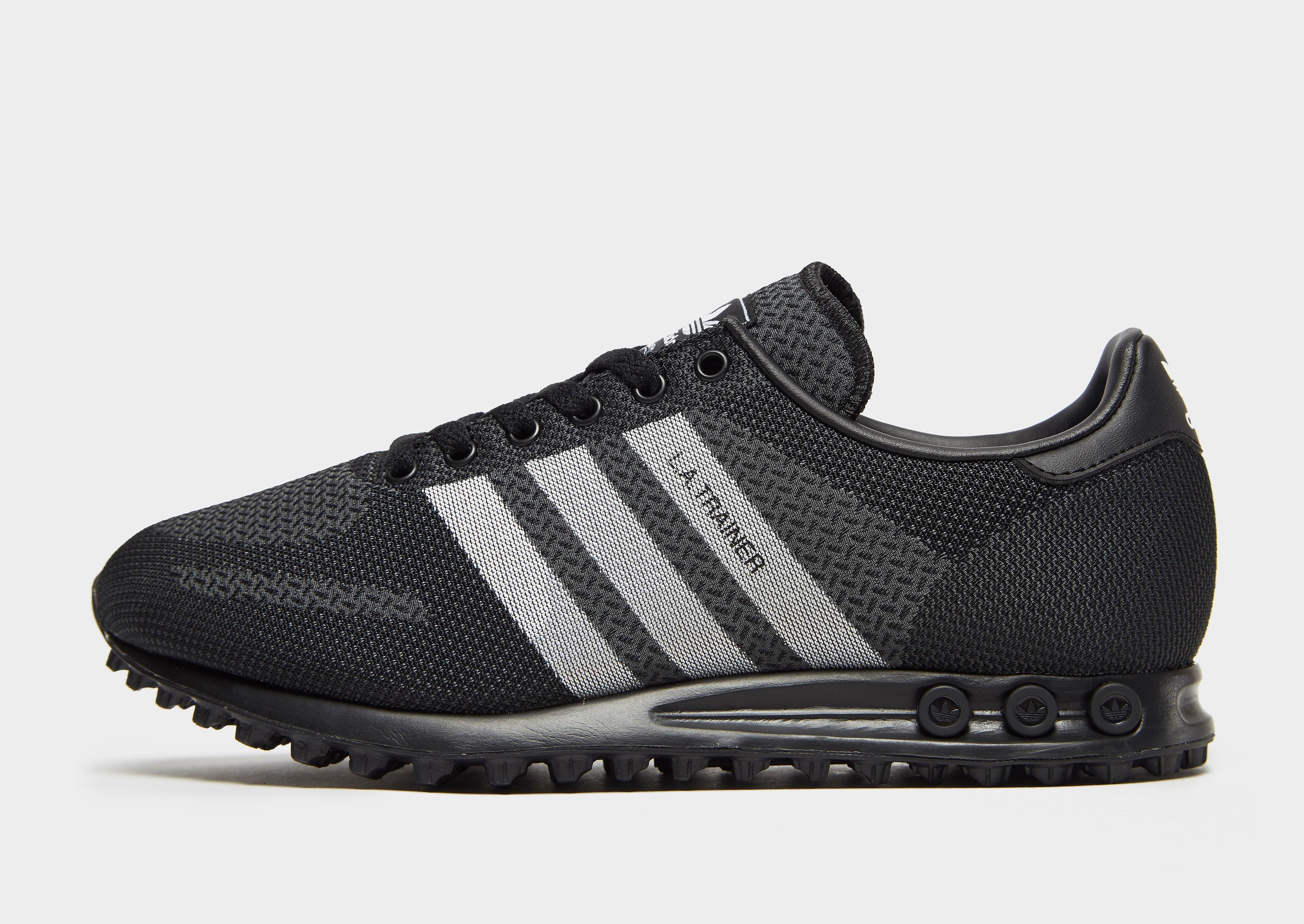 Adidas LA Trainer herensneaker zwart en grijs