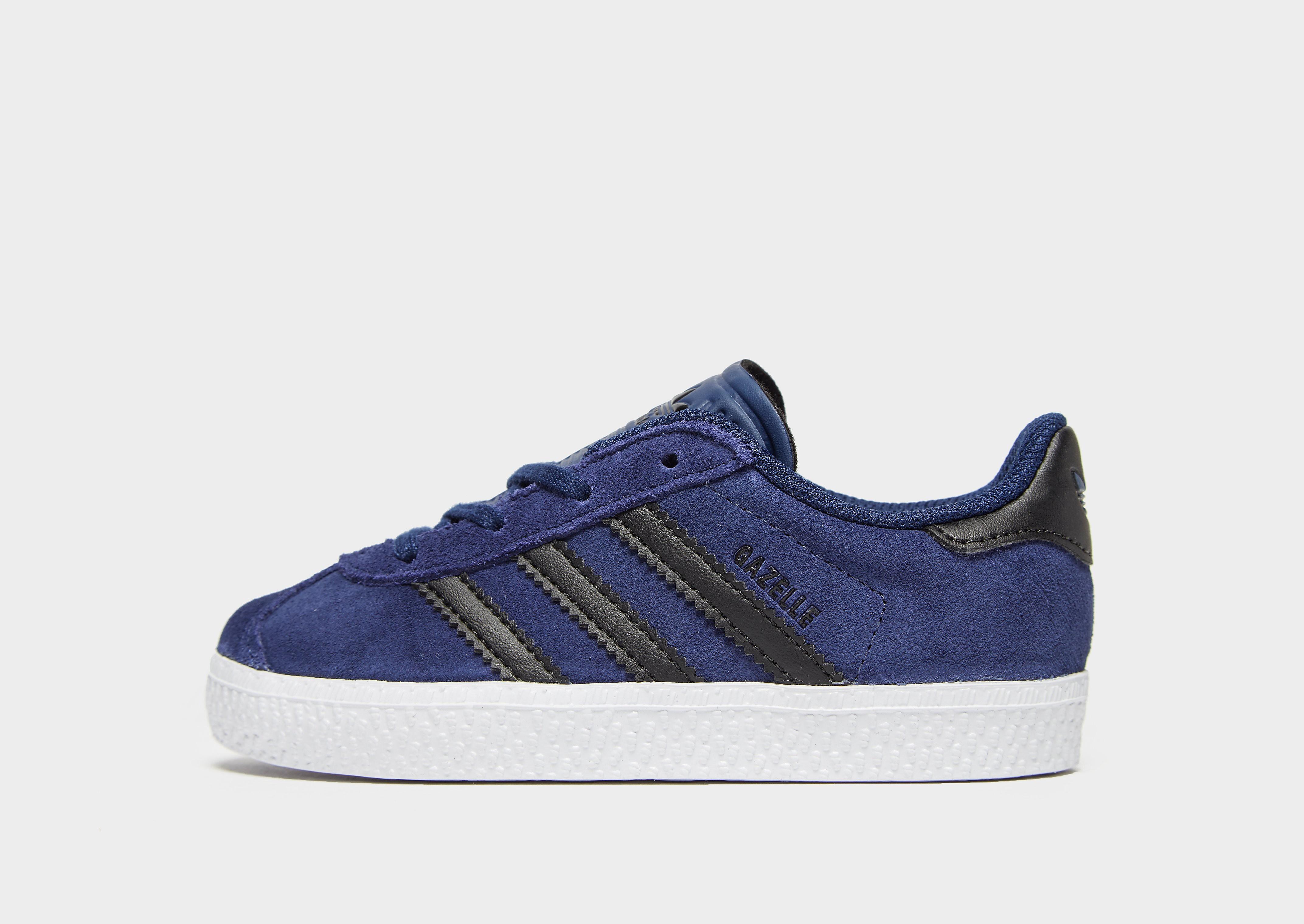 Adidas Gazelle kindersneaker blauw en zwart