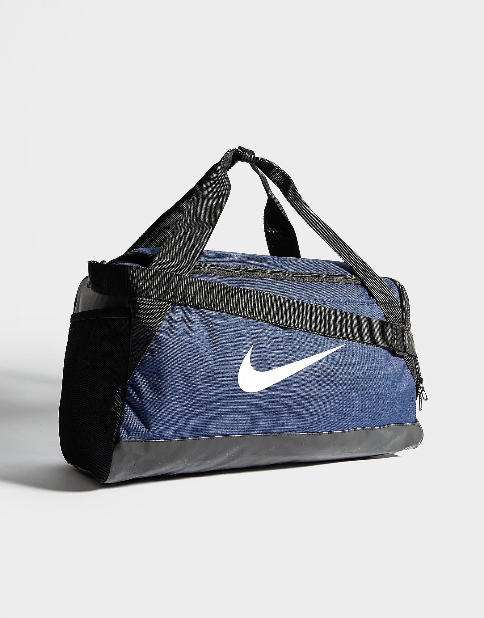 Nike Brasilia Small Sporttas - Obsidian/Black - Heren