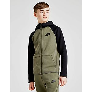d4d5a577853c Nike Tech Essential Colour Block Full Zip Hoodie Junior ...