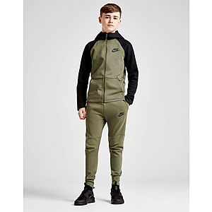56ec18db51ae ... Nike Tech Essential Colour Block Full Zip Hoodie Junior