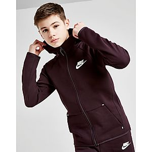 0498bea899aa Nike Tech Essential Full Zip Hoodie Junior ...