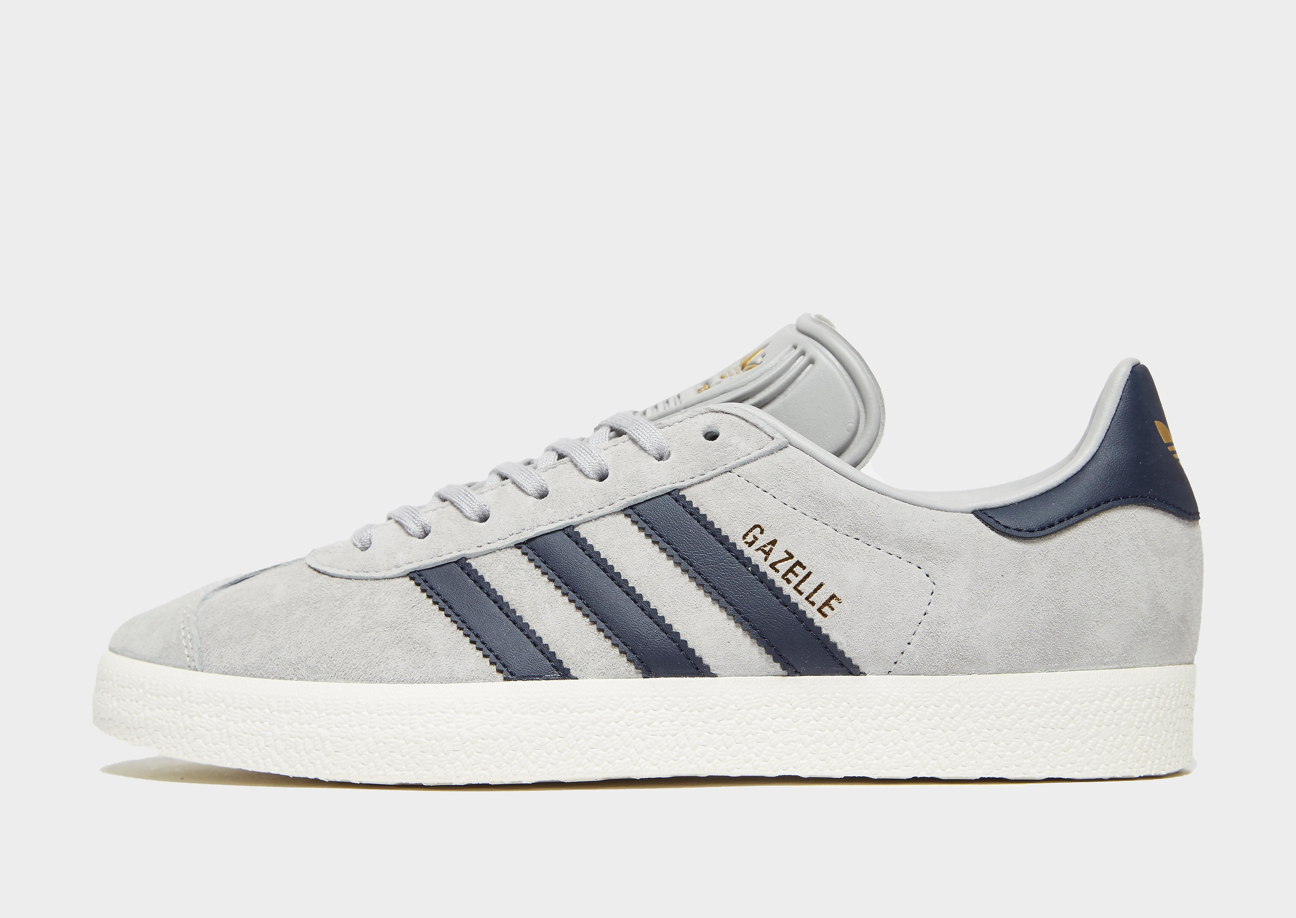 adidas Originals Gazelle Heren - alleen bij JD - Grijs - Heren