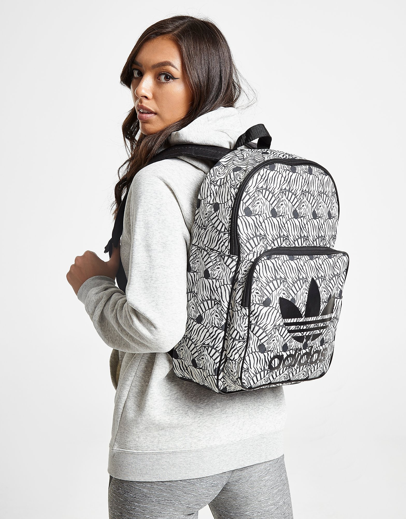 Adidas rugzak zwart en wit