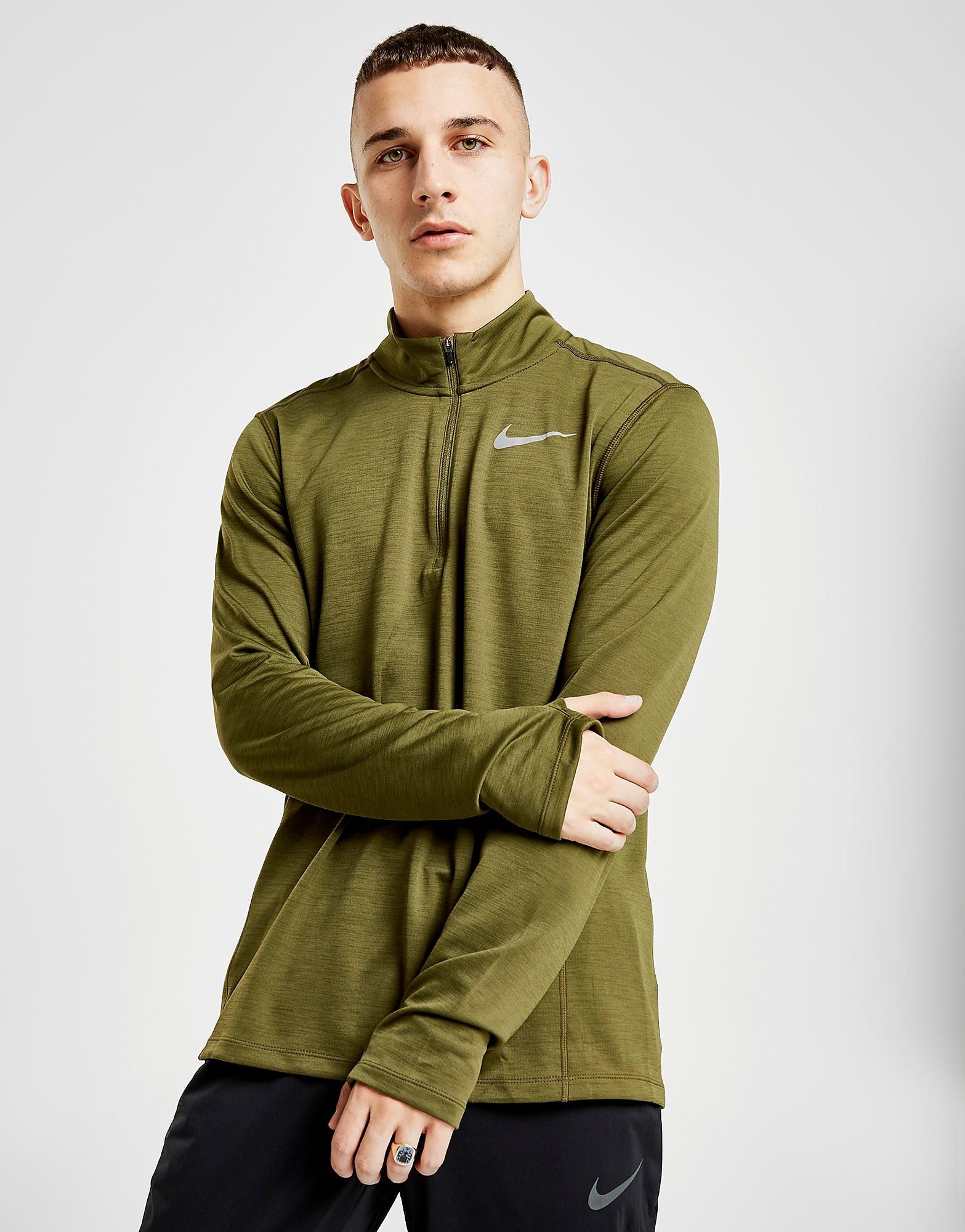 Nike Pacer 1/2 Zip Track Top Heren - Groen - Heren