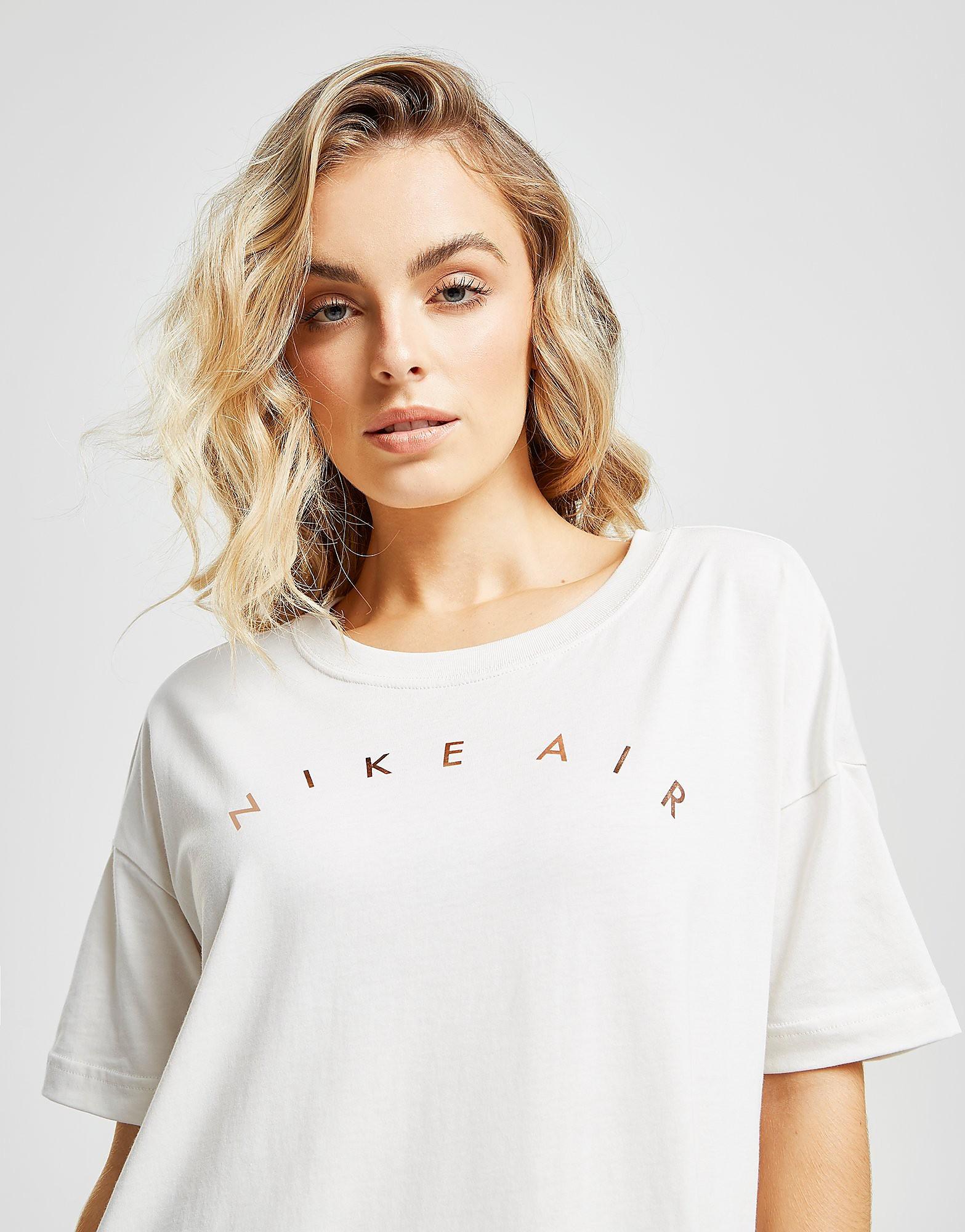 Nike Air Boyfriend T-Shirt Dames - Wit - Dames