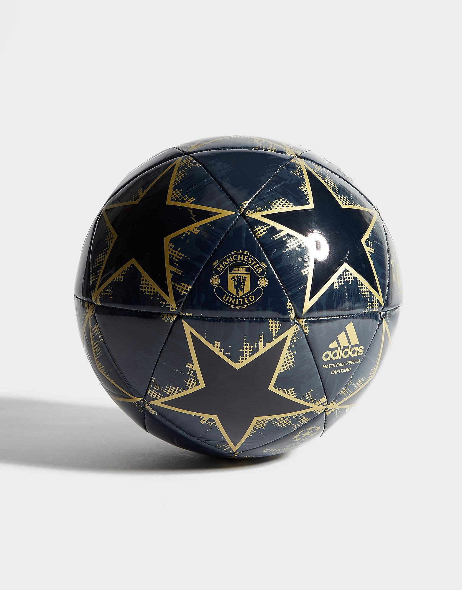 adidas Manchester United FC Finale 2018 Football - Blauw - Heren