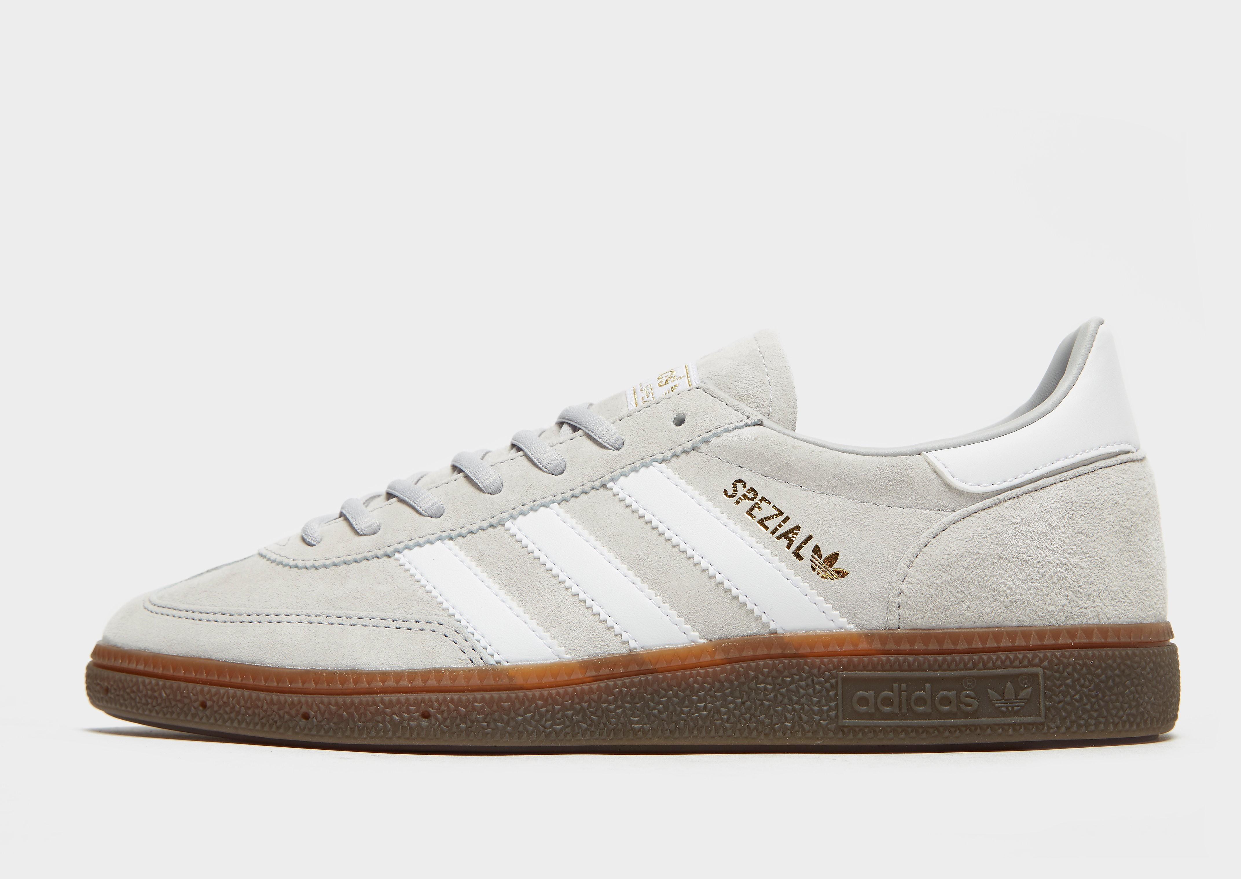 Adidas Spezial herensneaker grijs en goud