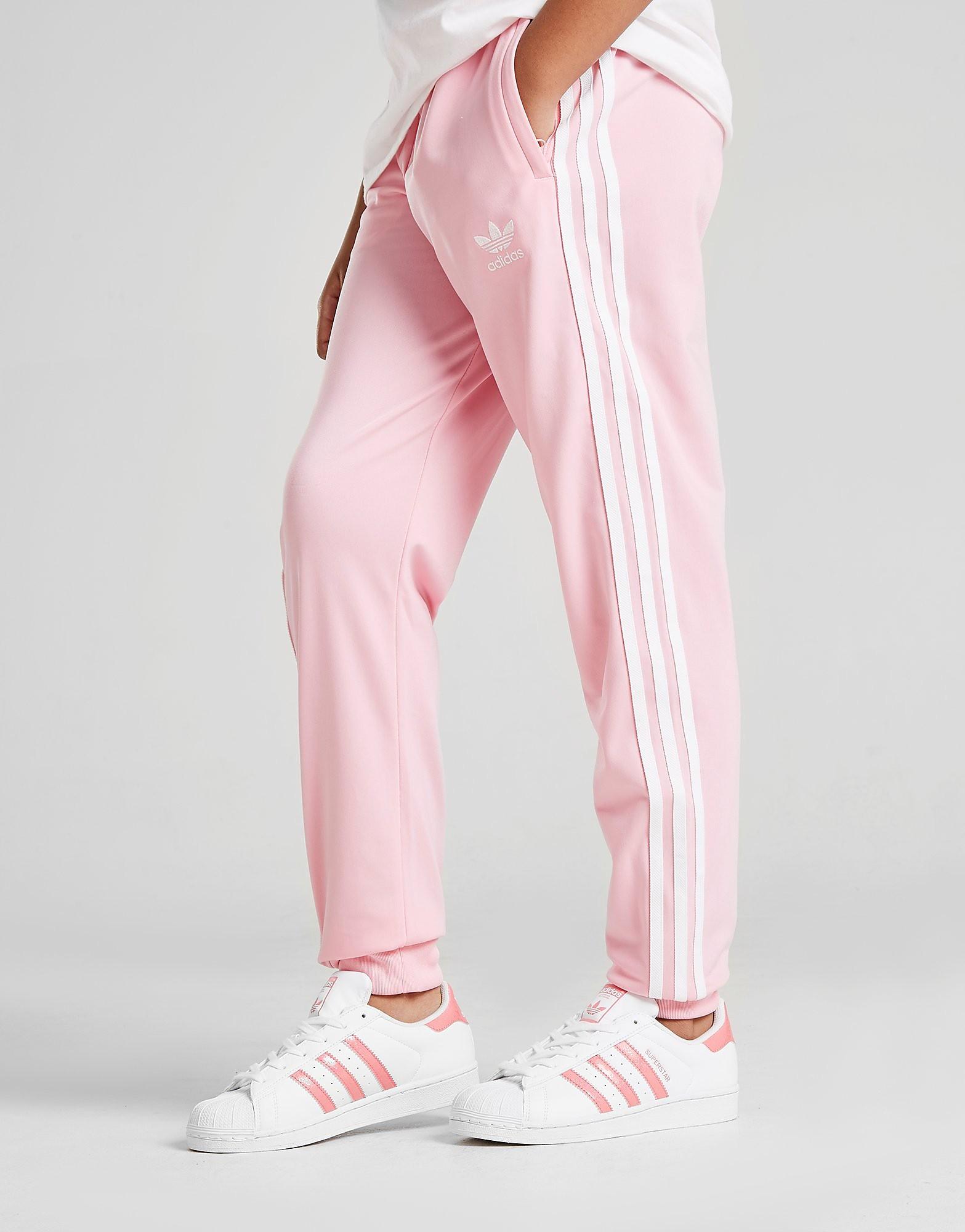 adidas Originals Girls' Superstar Track Pants Junior - Roze - Kind