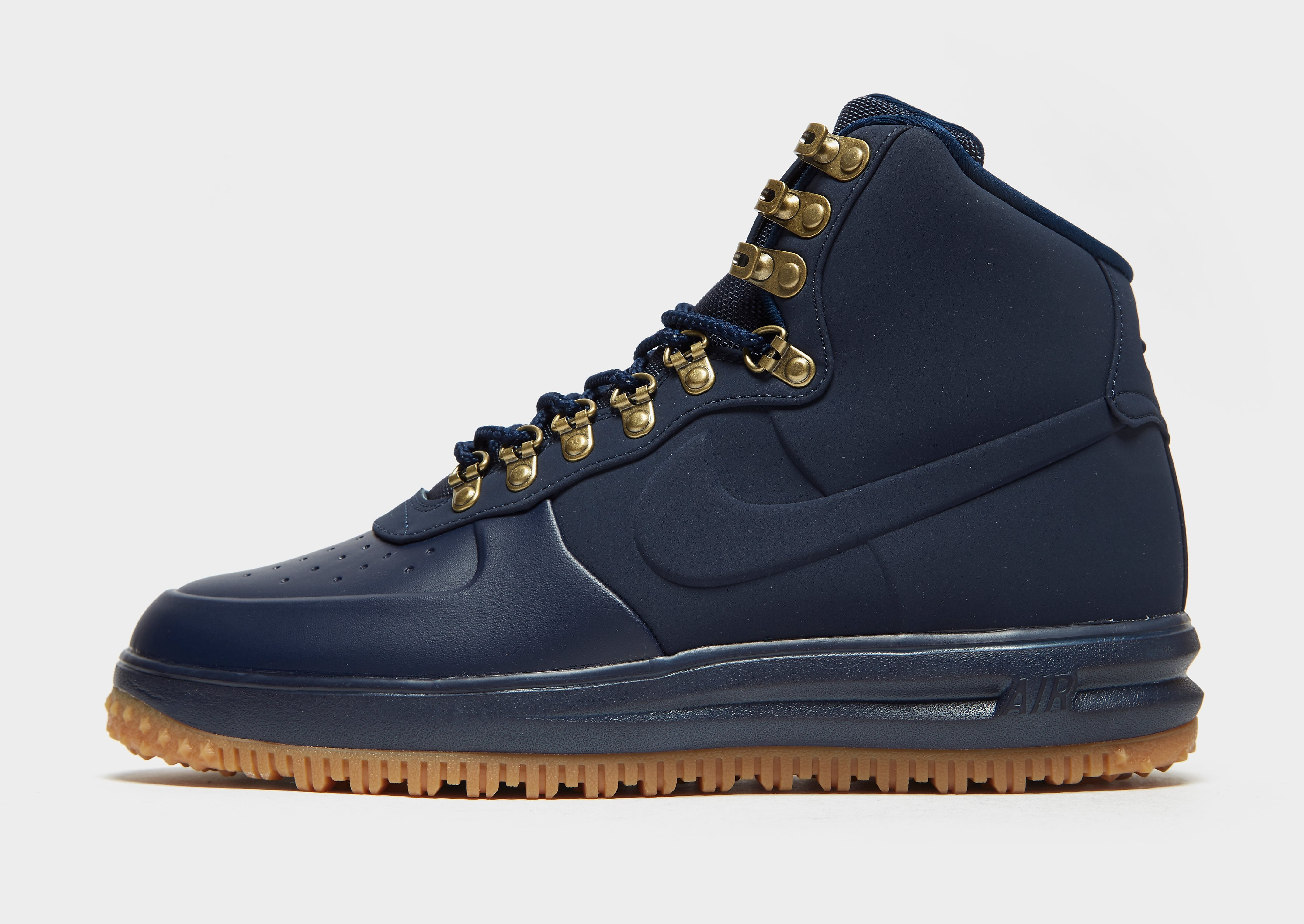 Nike Air Force 1 Mid Duck Boot - Blauw - Heren