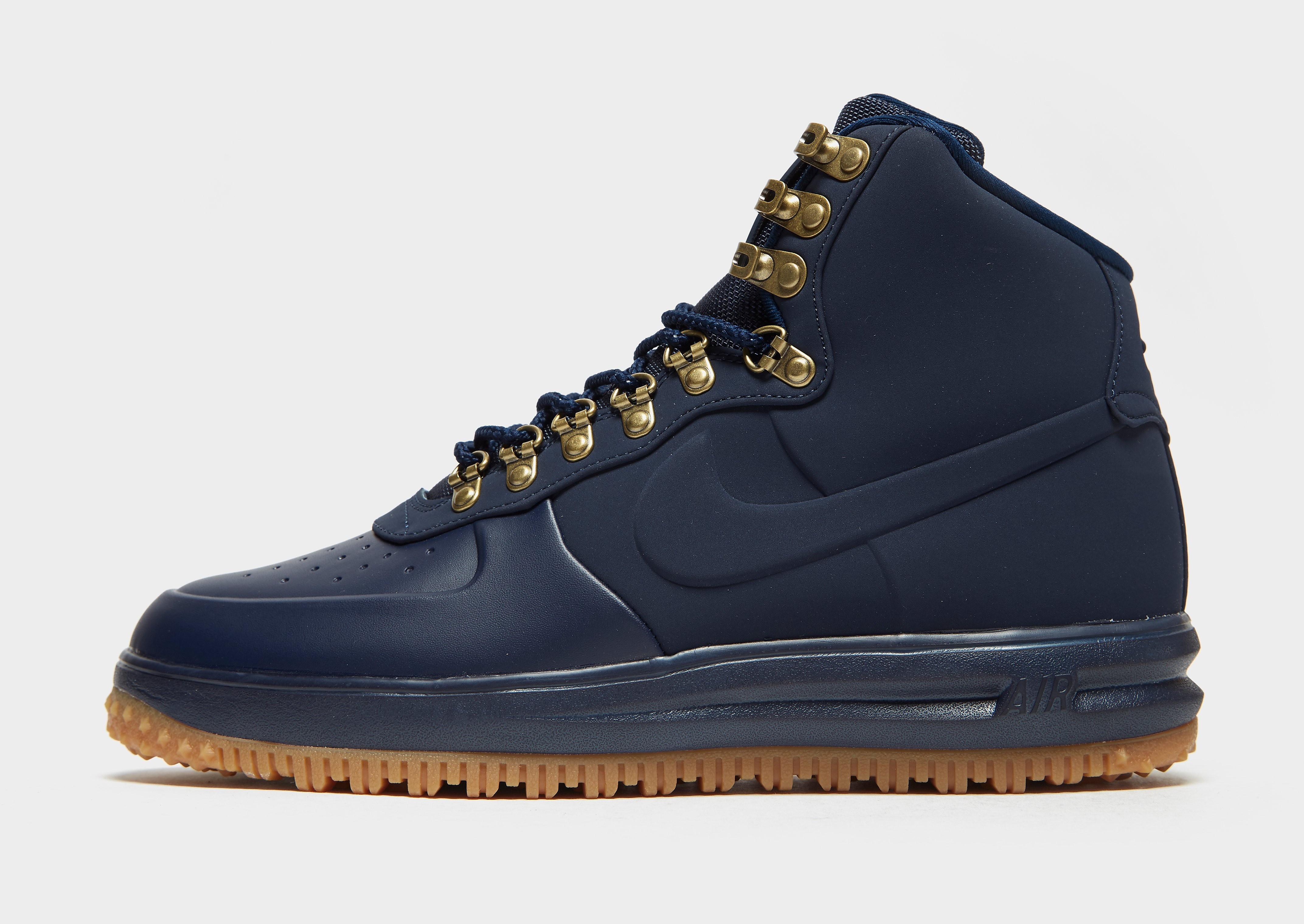 Nike Air Force 1 Mid Duck Boot - Blauw - Heren