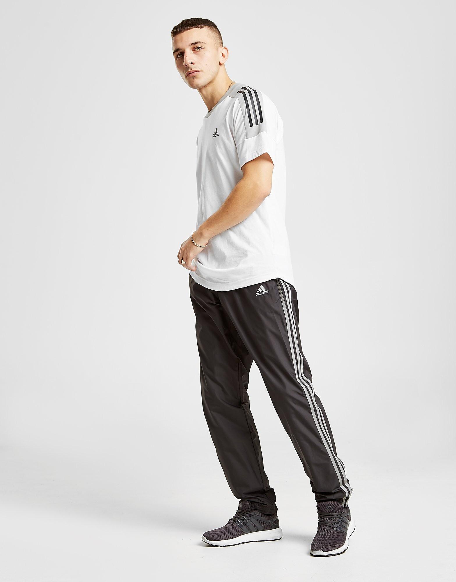 adidas 3-Stripes Woven Track Pants - alleen bij JD - Zwart - Heren