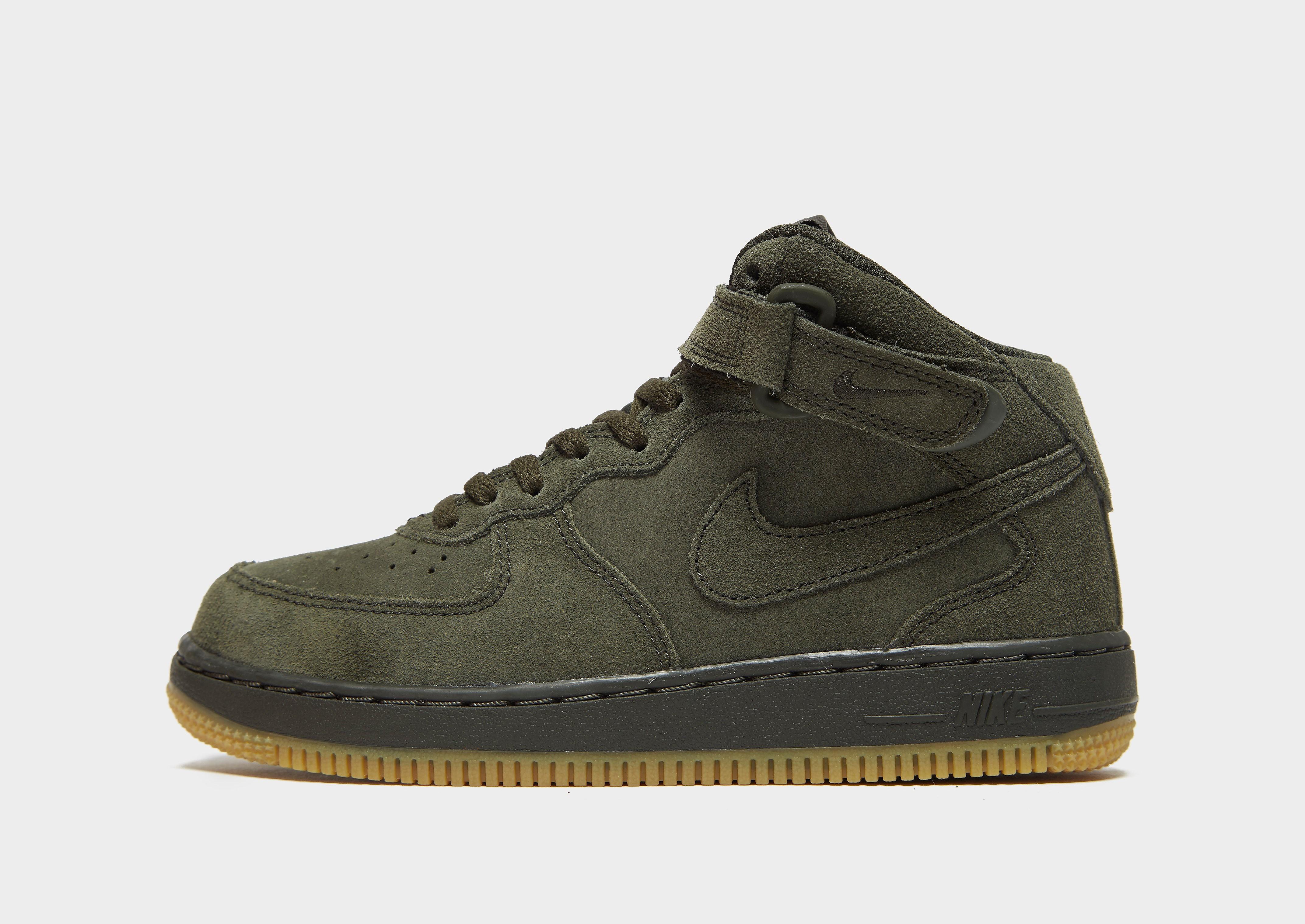 Nike Air Force 1 Mid Children - Groen - Kind