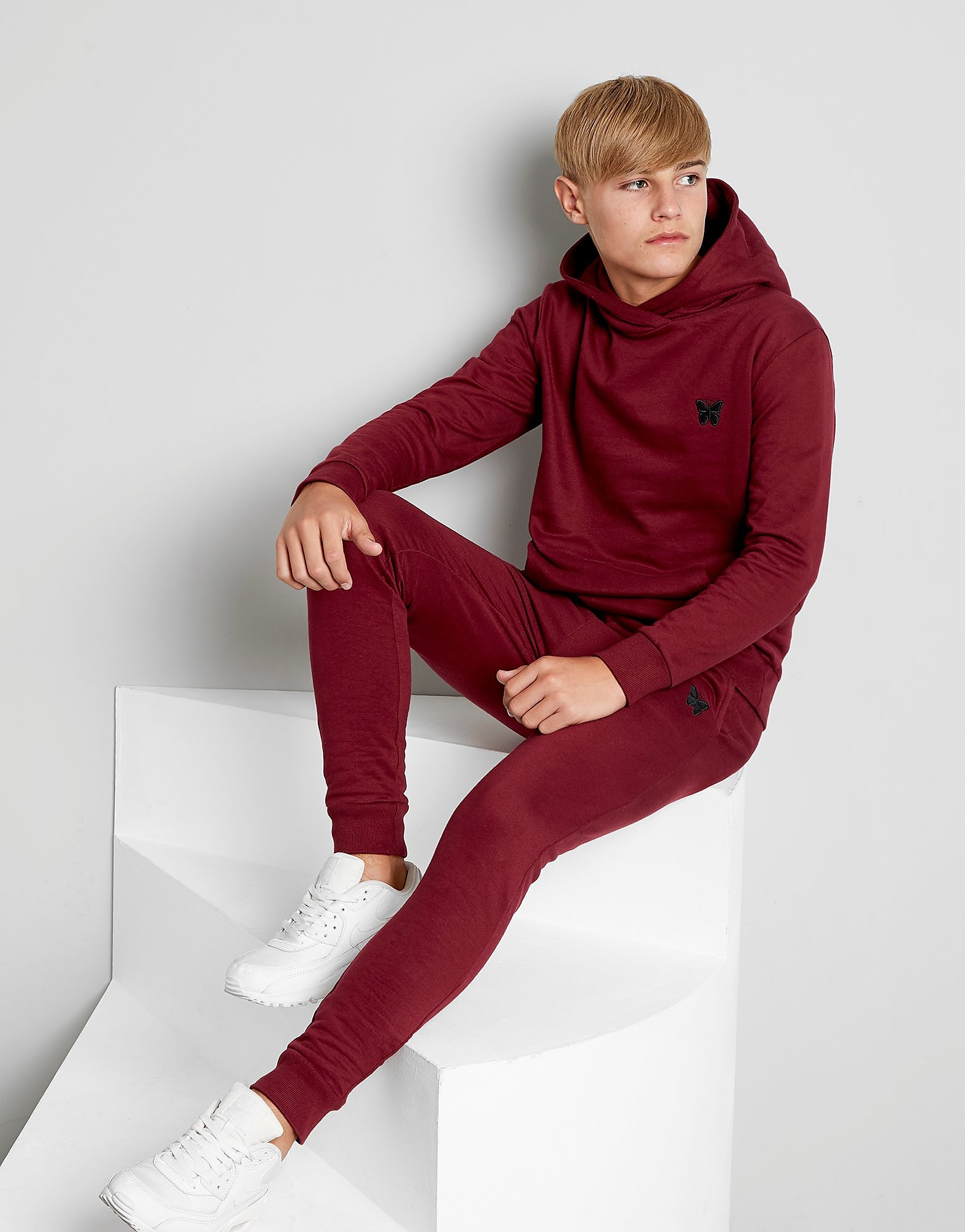 Good For Nothing Essential Fleece Track Pants Junior - alleen bij JD - Rood - Kind