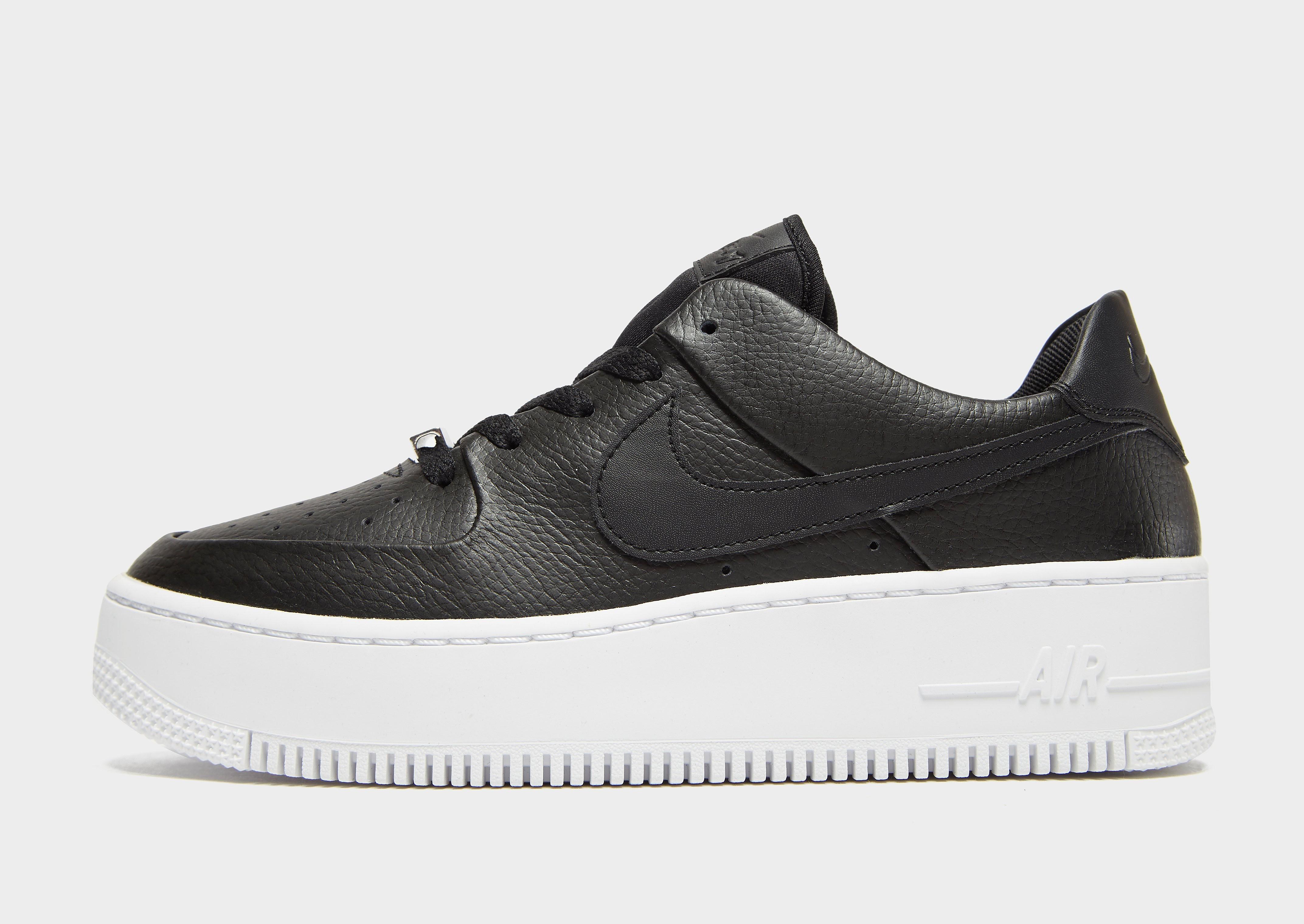 Nike Air Force 1 Sage Low Dames - Zwart - Dames