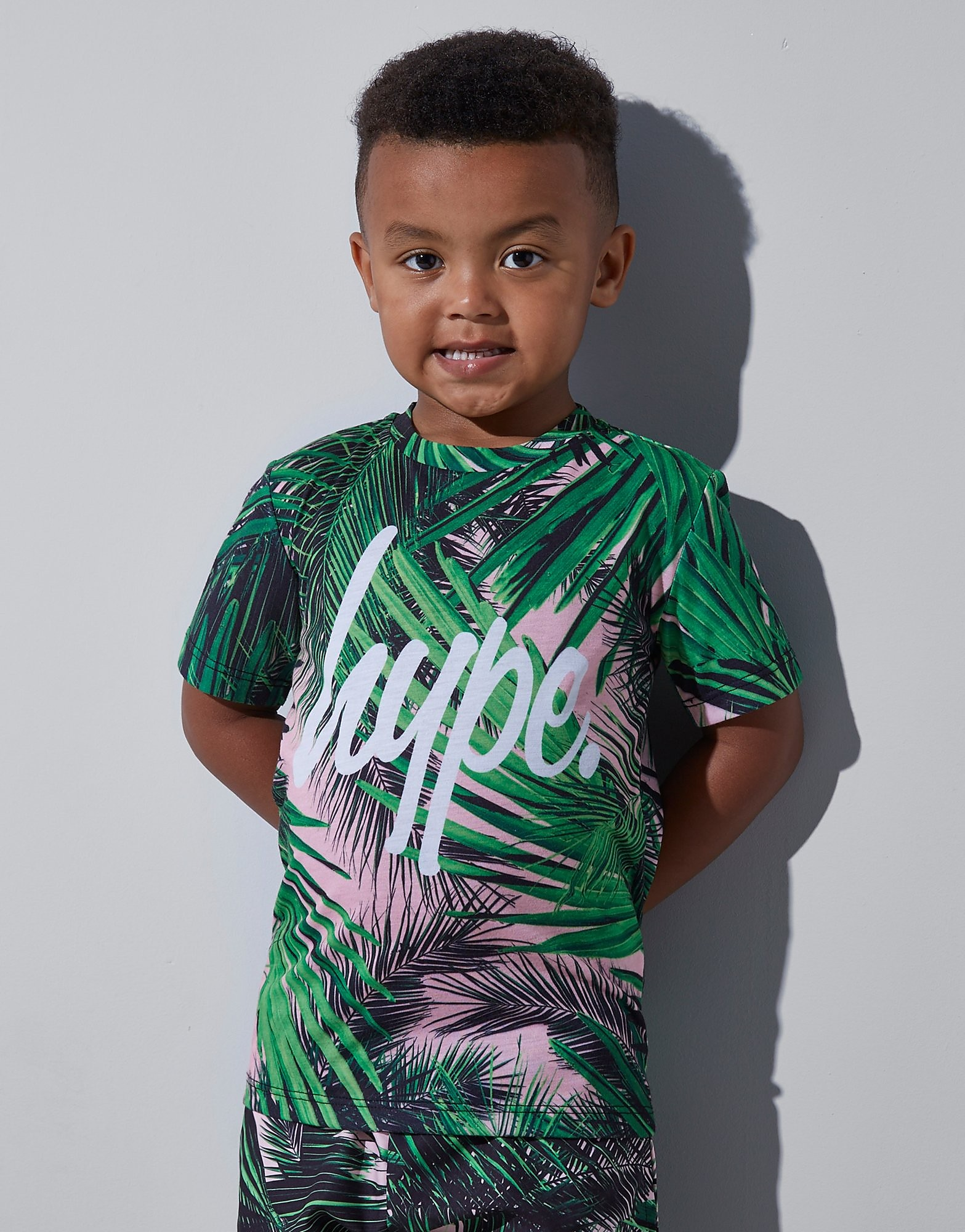 Hype Jungle T-Shirt Kinderen - Groen - Kind
