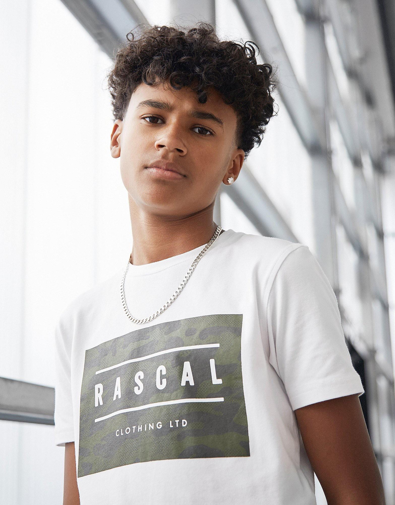 Rascal Excel Logo T-Shirt Junior - Wit - Kind