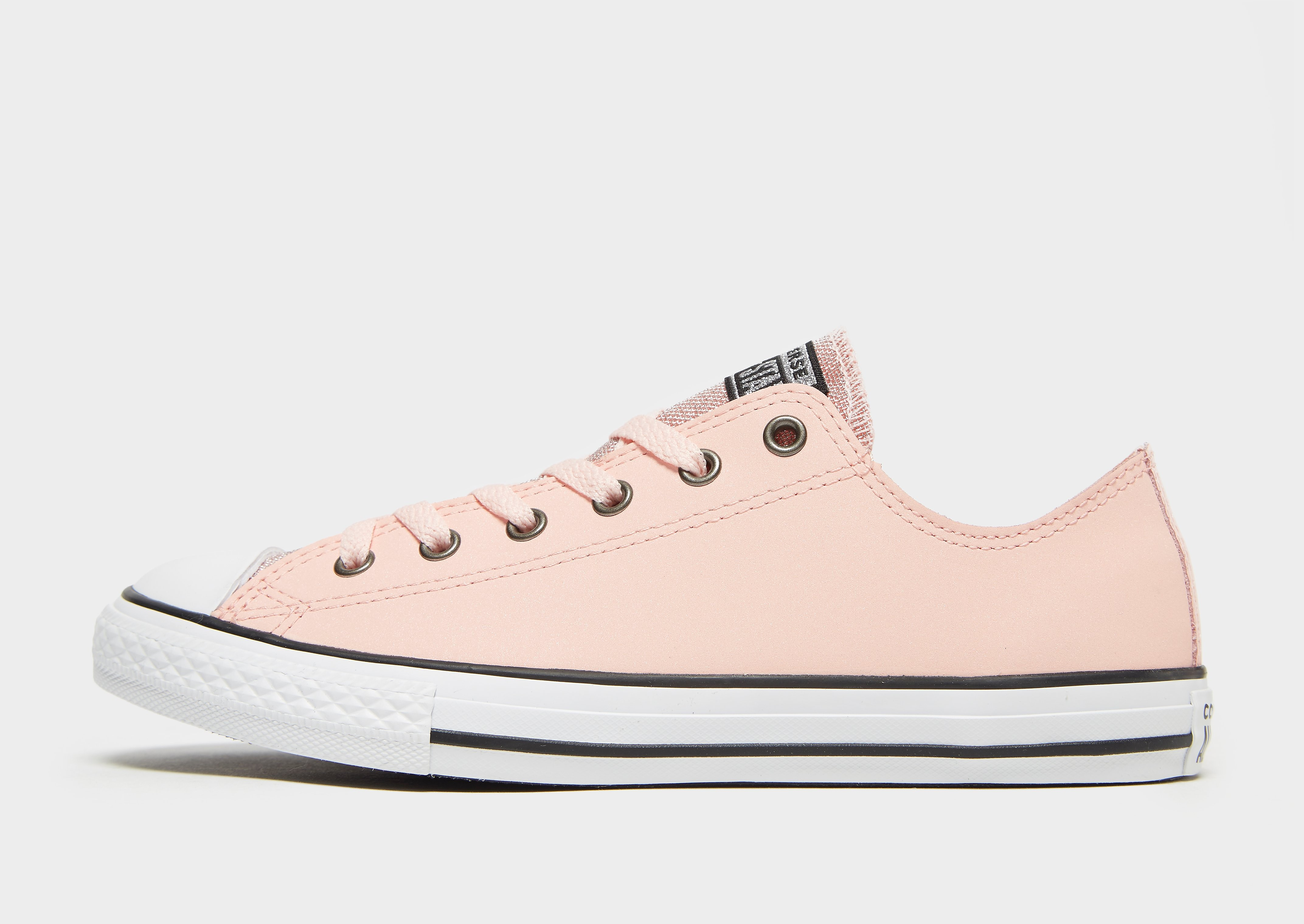 Converse All Star Ox Leather Junior - Roze - Kind
