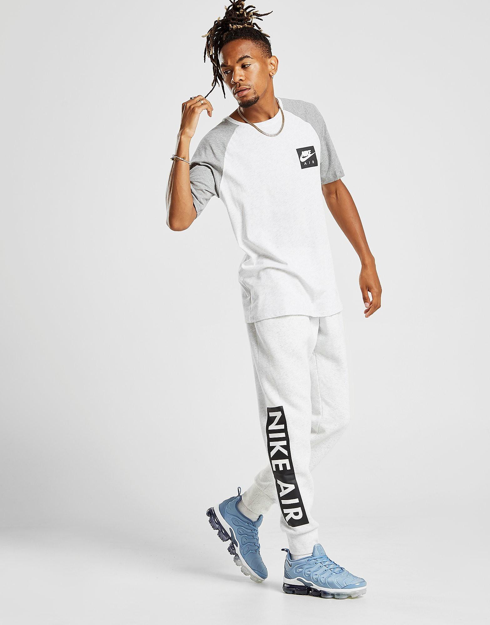 Nike Air Gel Logo T-Shirt Heren - alleen bij JD - Grijs - Heren