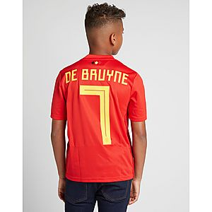 adidas Belgium 2018 19 De Bruyne  7 Home Shirt Junior ... 271433e09