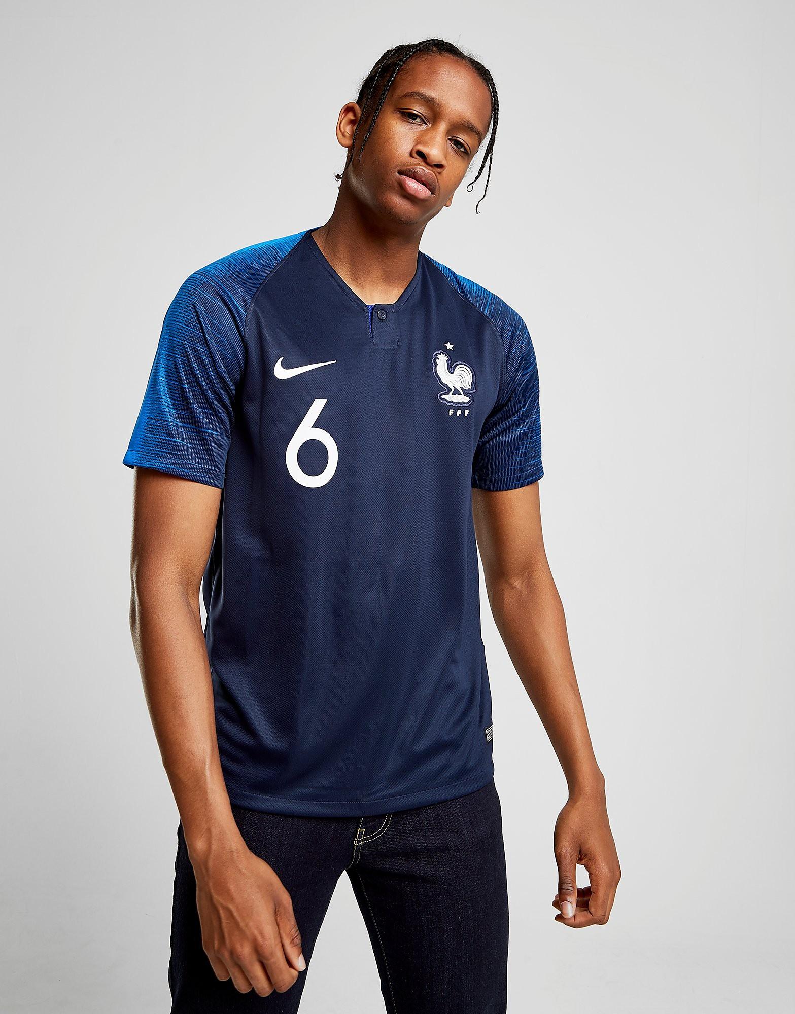 Nike France 2018 Pogba #6 Home Shirt