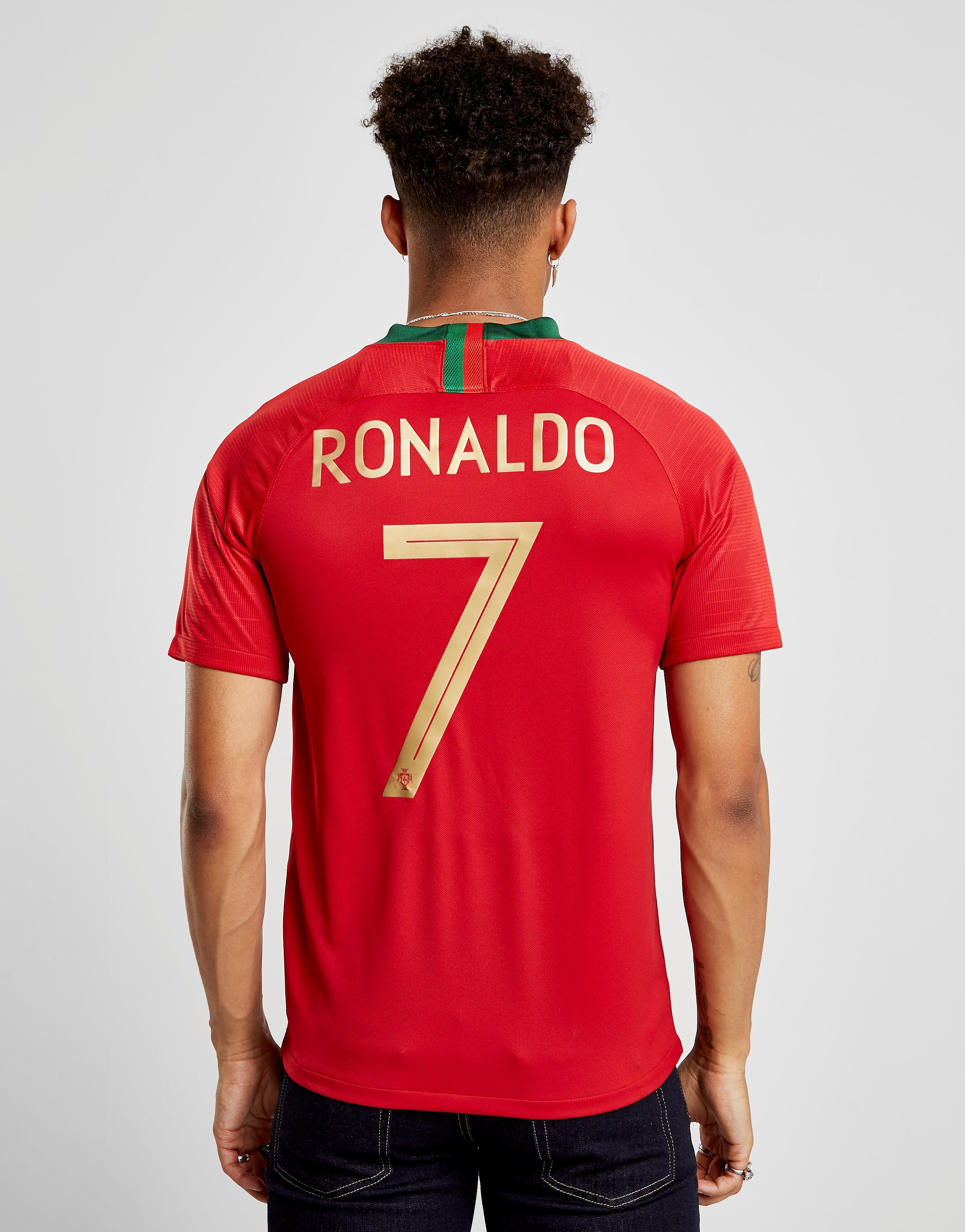 Nike Portugal 2018/19 Ronaldo #7 Home Shirt