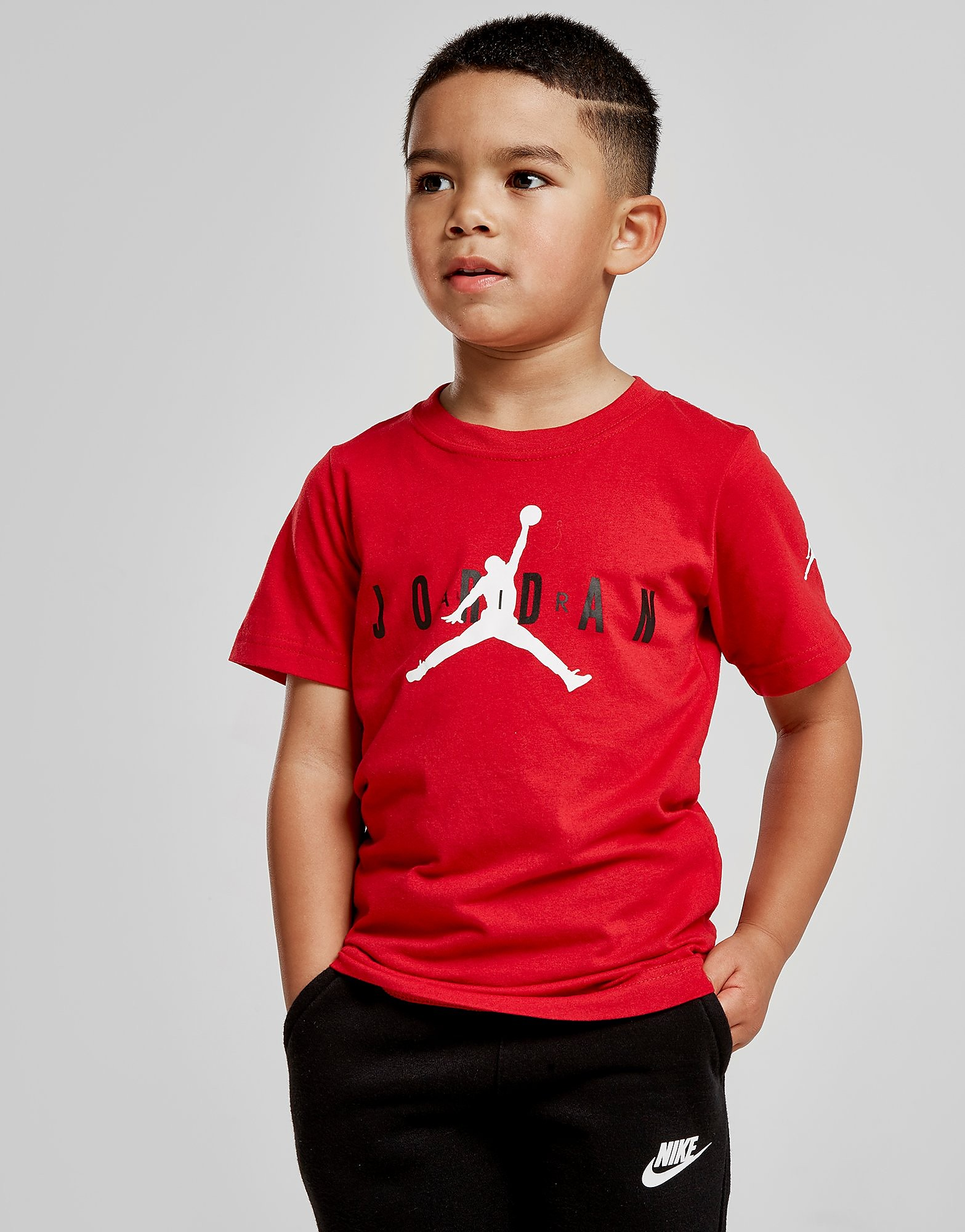 Jordan Brand 5 T-Shirt Kinderen - Rood - Kind