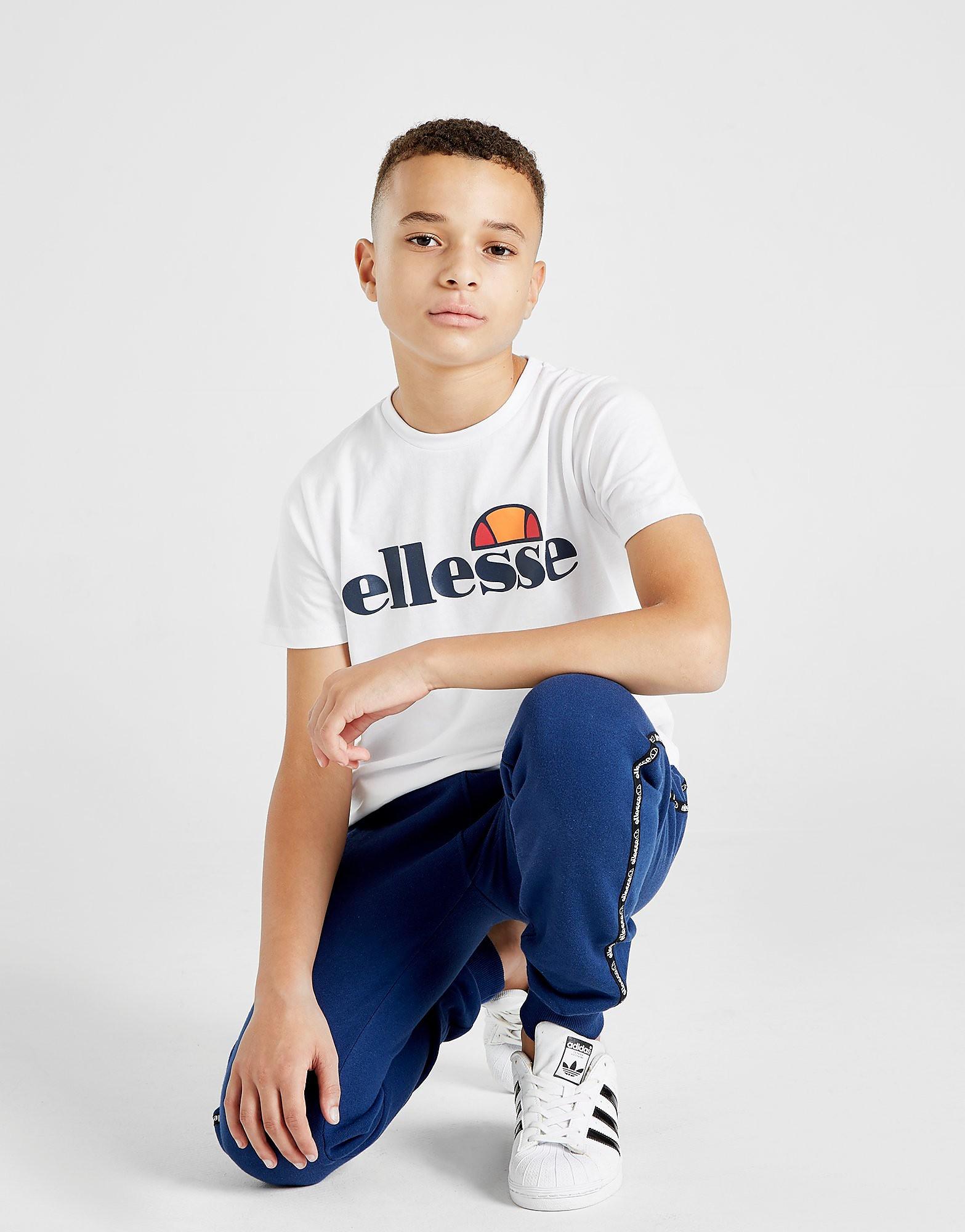 Ellesse Melio T-Shirt Junior - alleen bij JD - Wit - Kind