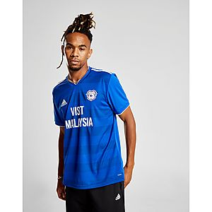 1b5cbb322 adidas Cardiff City FC 2018 19 Home Shirt ...