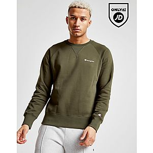 Champion Small Script Crew Sweatshirt ... 7068d3788360