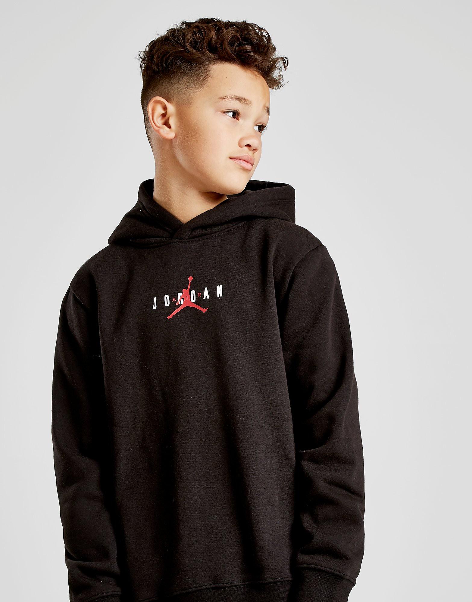 Jordan Air Overhead Hoodie Junior - Zwart - Kind