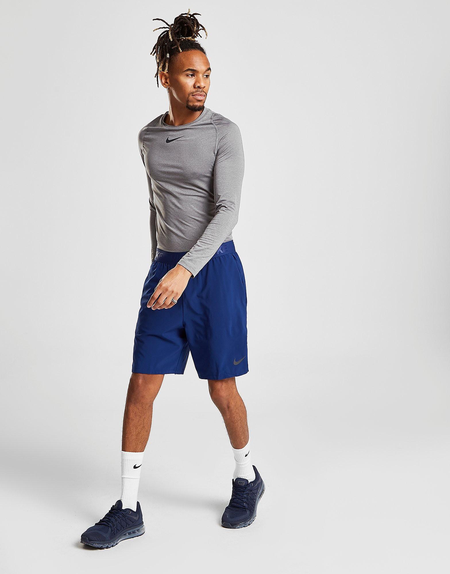 Nike Flex Vent Shorts Heren - Blauw - Heren