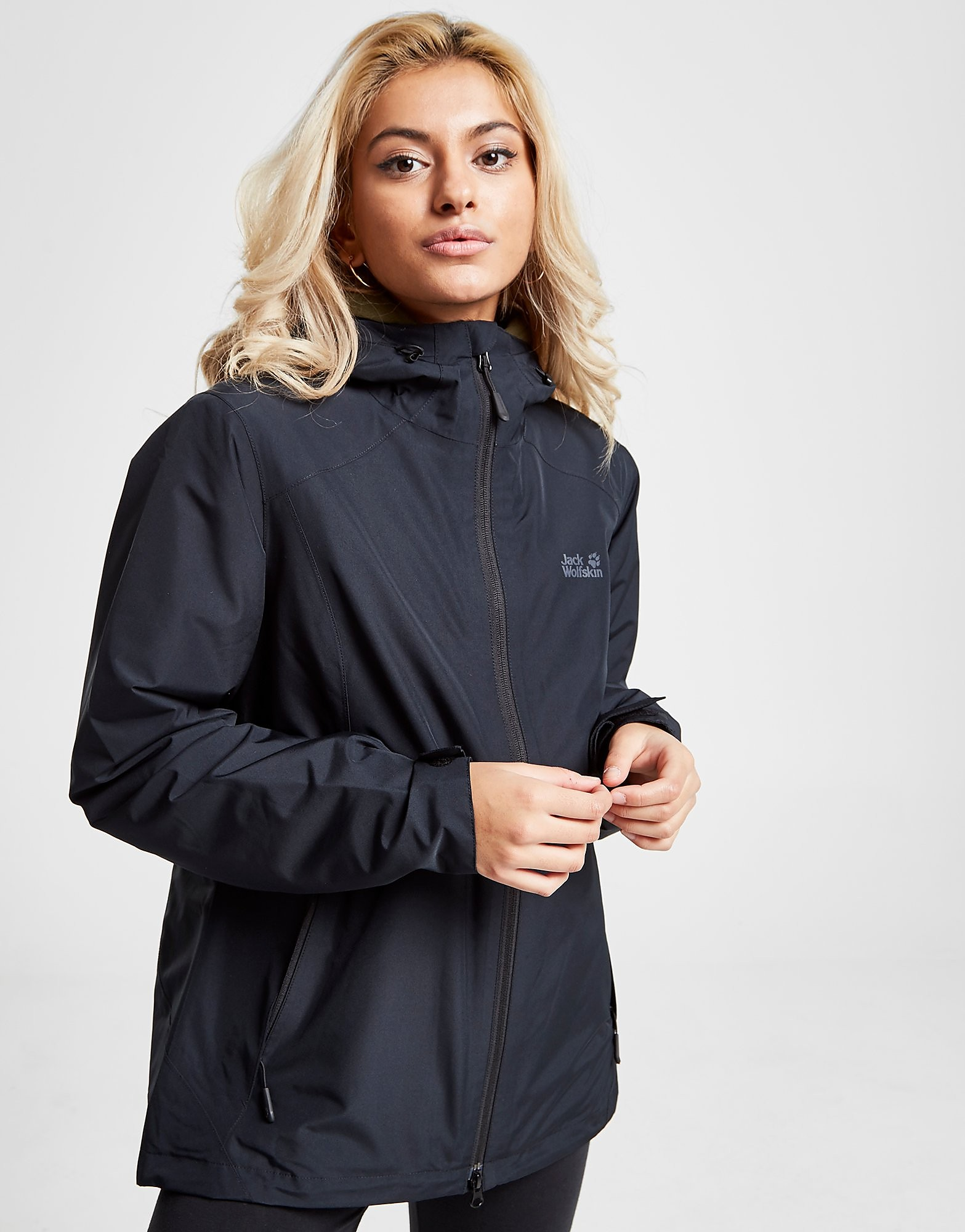 Jack Wolfskin Chilly Morning Jacket Dames - Zwart - Dames