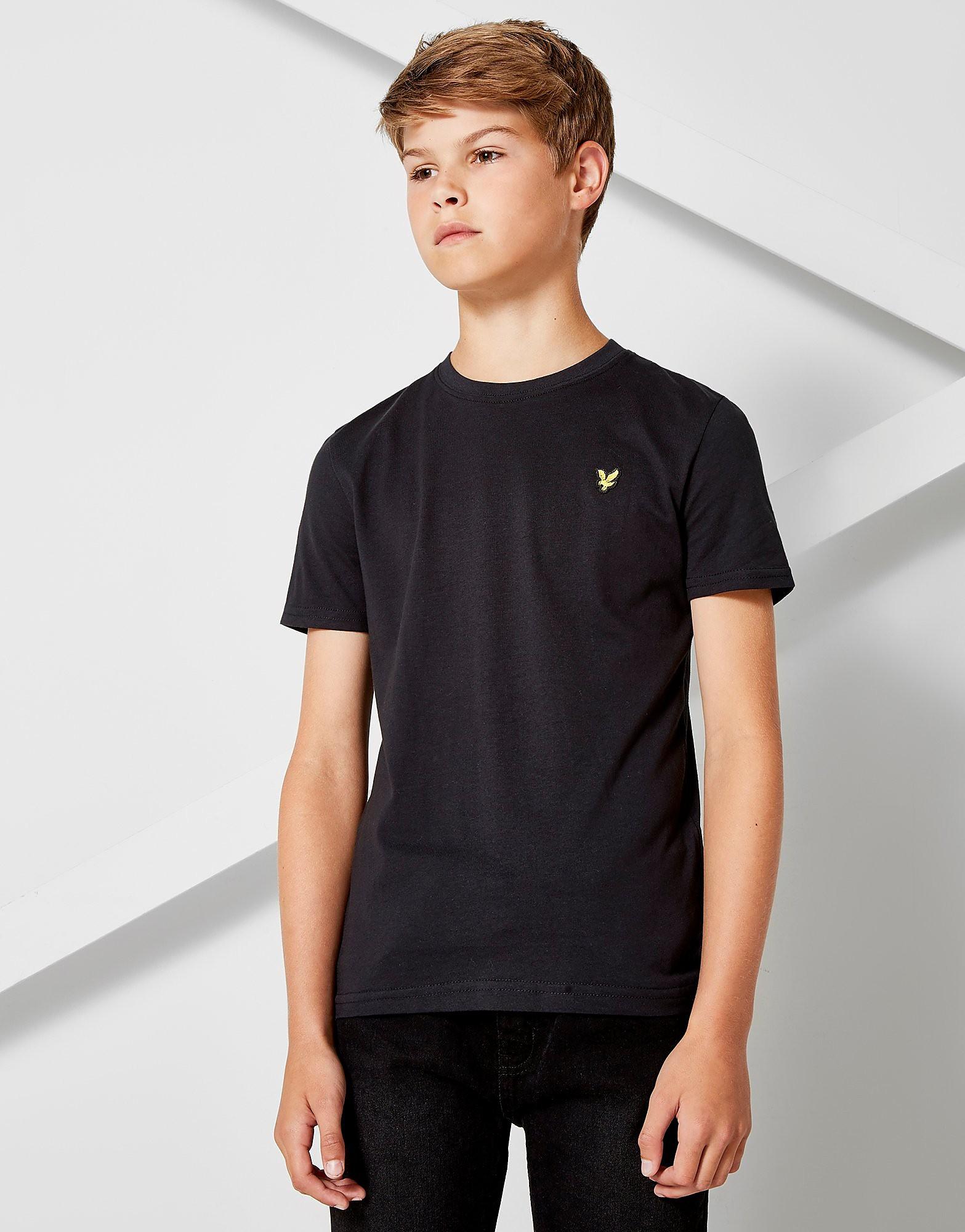 Lyle & Scott Short Sleeve Logo T-Shirt Junior - Zwart - Kind
