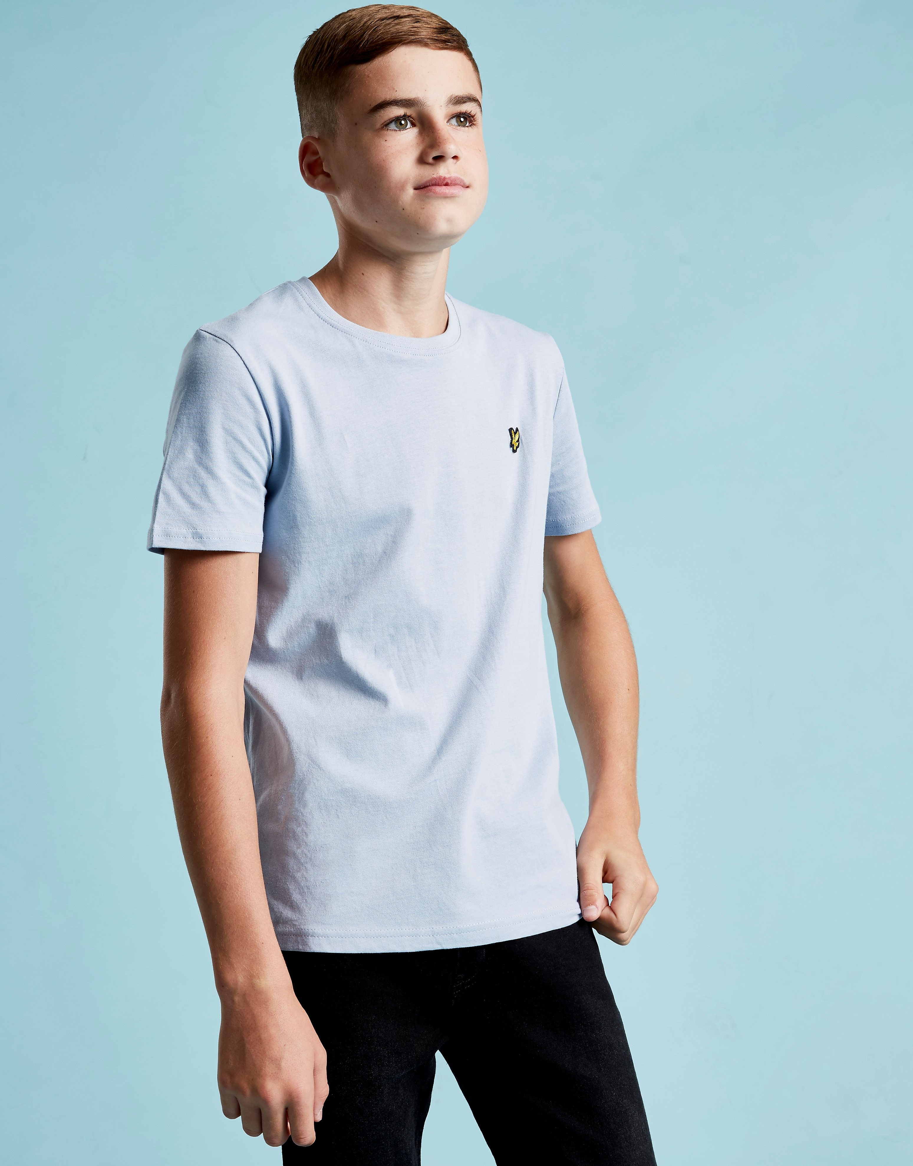 Lyle & Scott Short Sleeve Logo T-Shirt Junior - Blauw - Kind