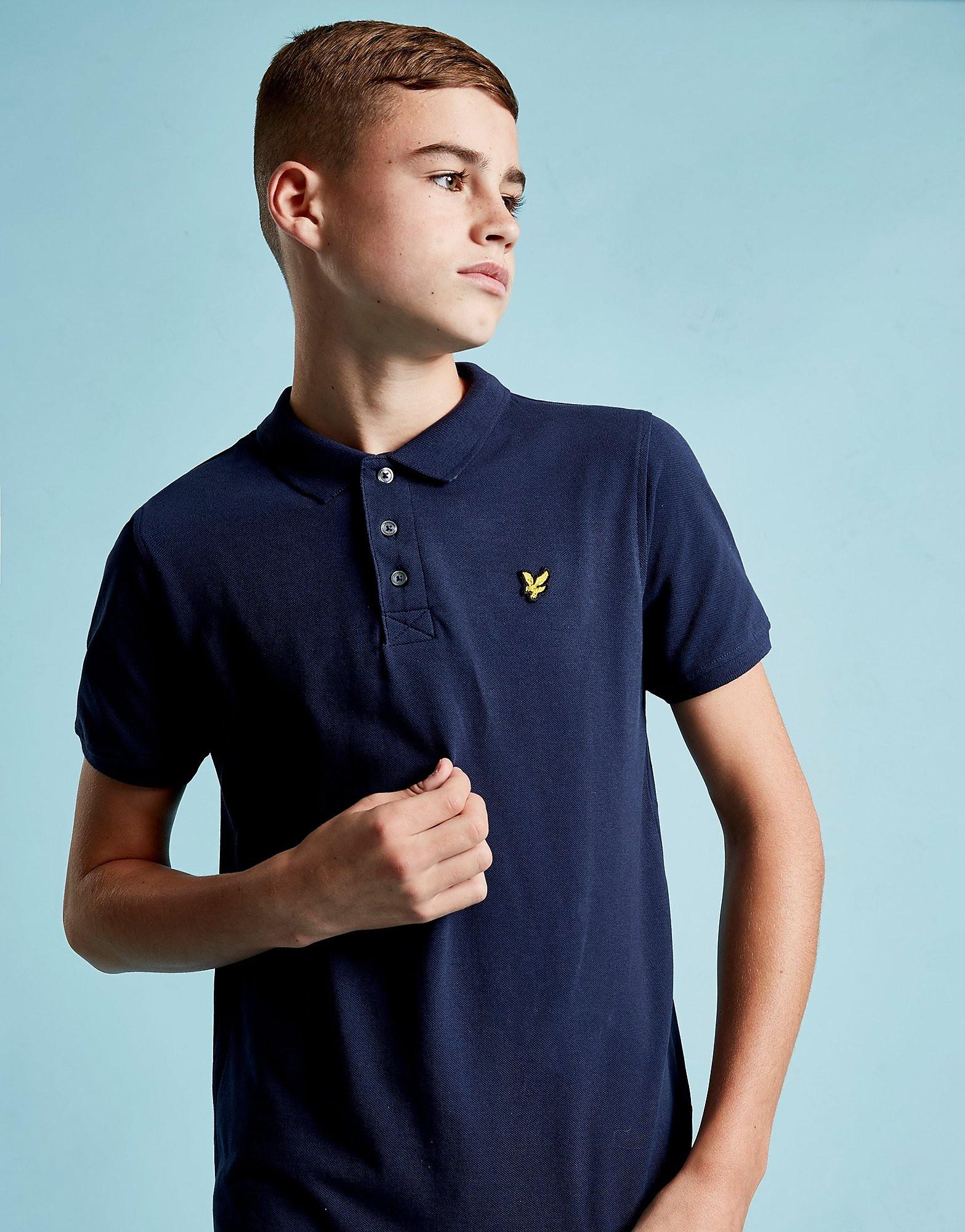 Lyle & Scott Logo Short Sleeve Polo Shirt Junior - Blauw - Kind