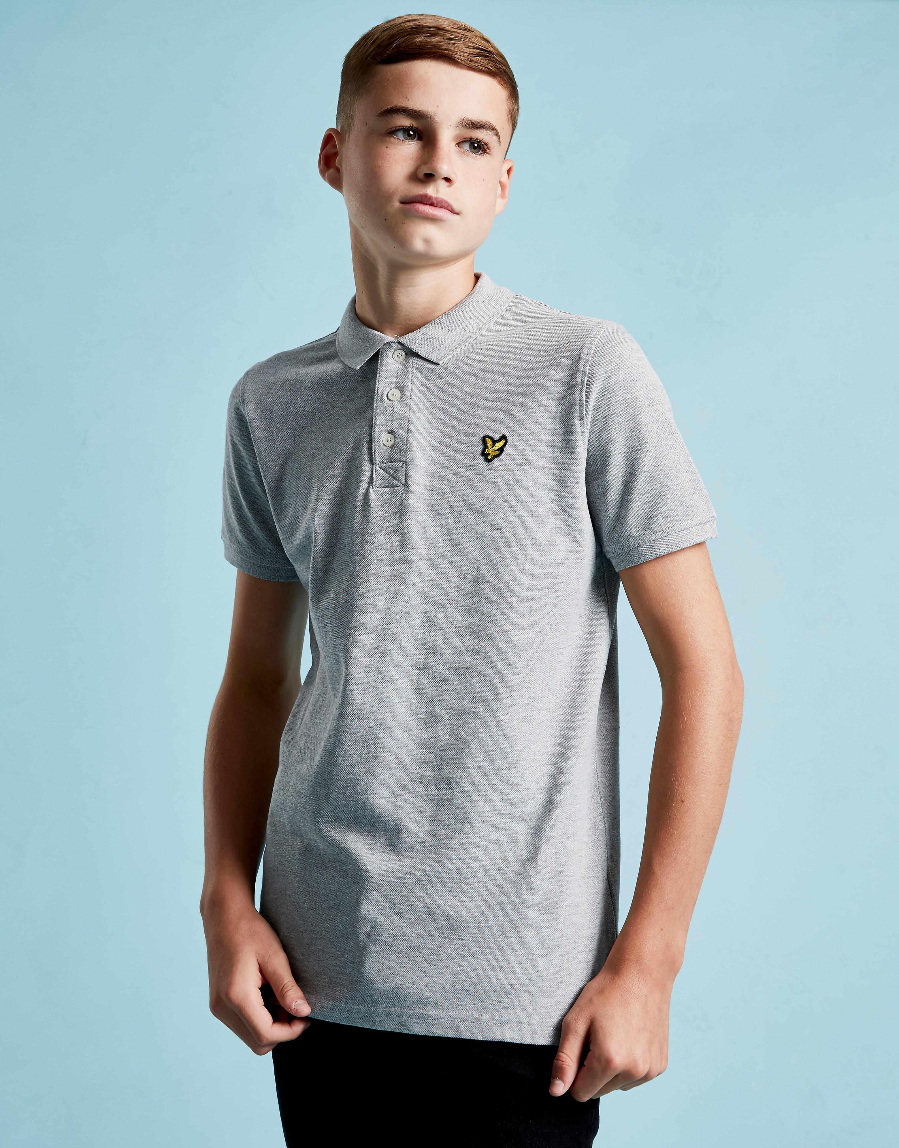 Lyle & Scott Logo Short Sleeve Polo Shirt Junior - Grijs - Kind