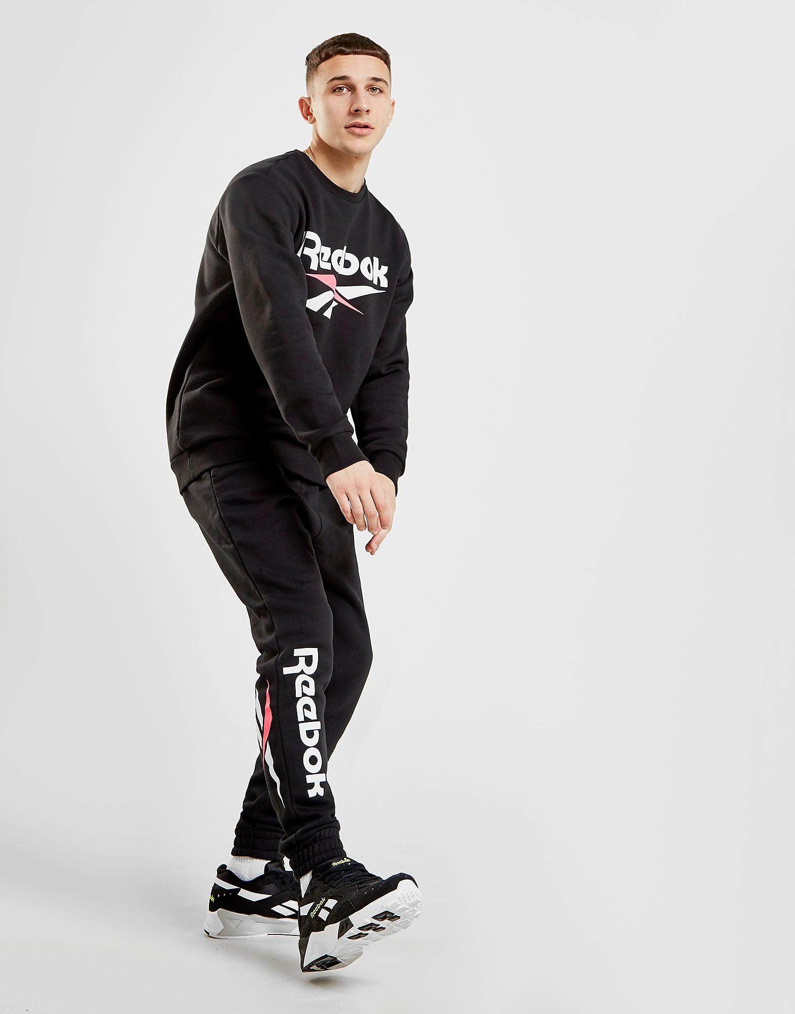 Reebok Classic Vector Track Pants - Zwart - Heren