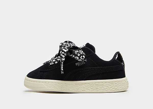 918321d2e728 PUMA Suede Heart Lux Infant - Black - Kids