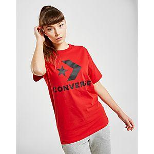 5185b1506f2b56 Converse Star Chevron Boyfriend T-Shirt ...