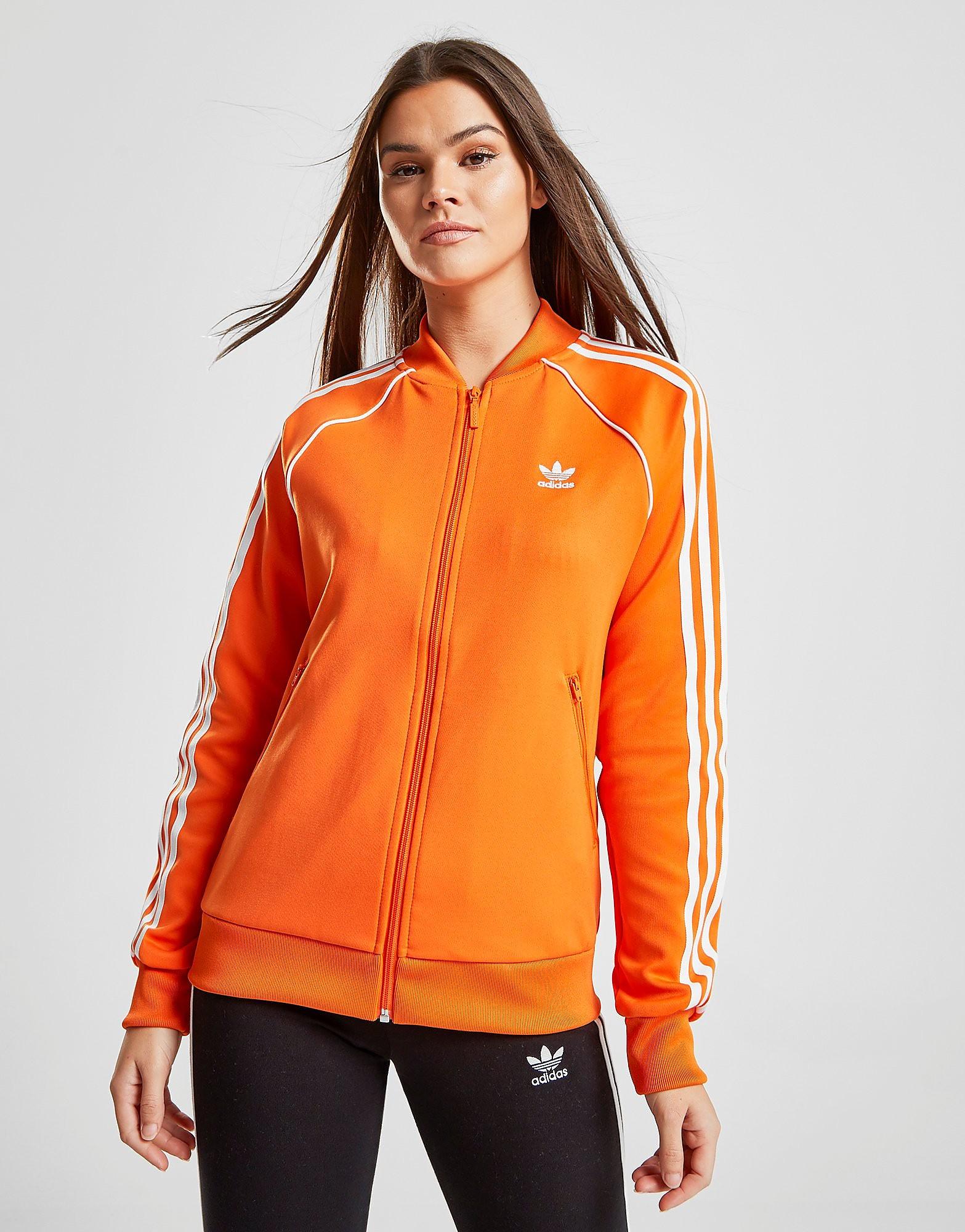 adidas Originals Superstar Track Top Dames - Oranje - Dames