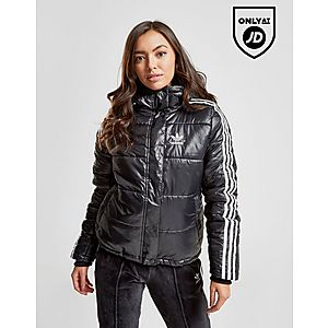 d7c463b473fa adidas Originals 3-Stripes Oversized Padded Jacket ...