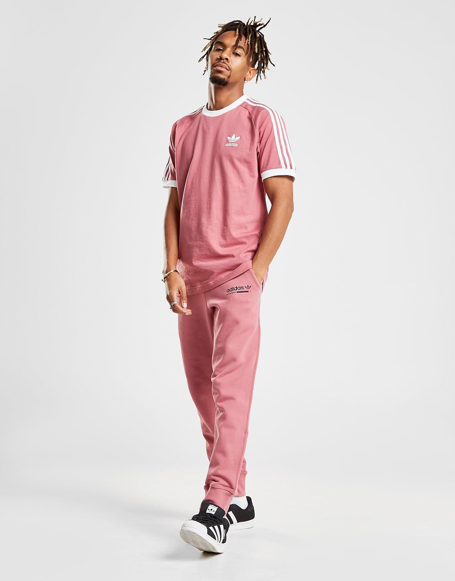 adidas Originals Kaval Cuffed Fleece Pants - Roze - Heren