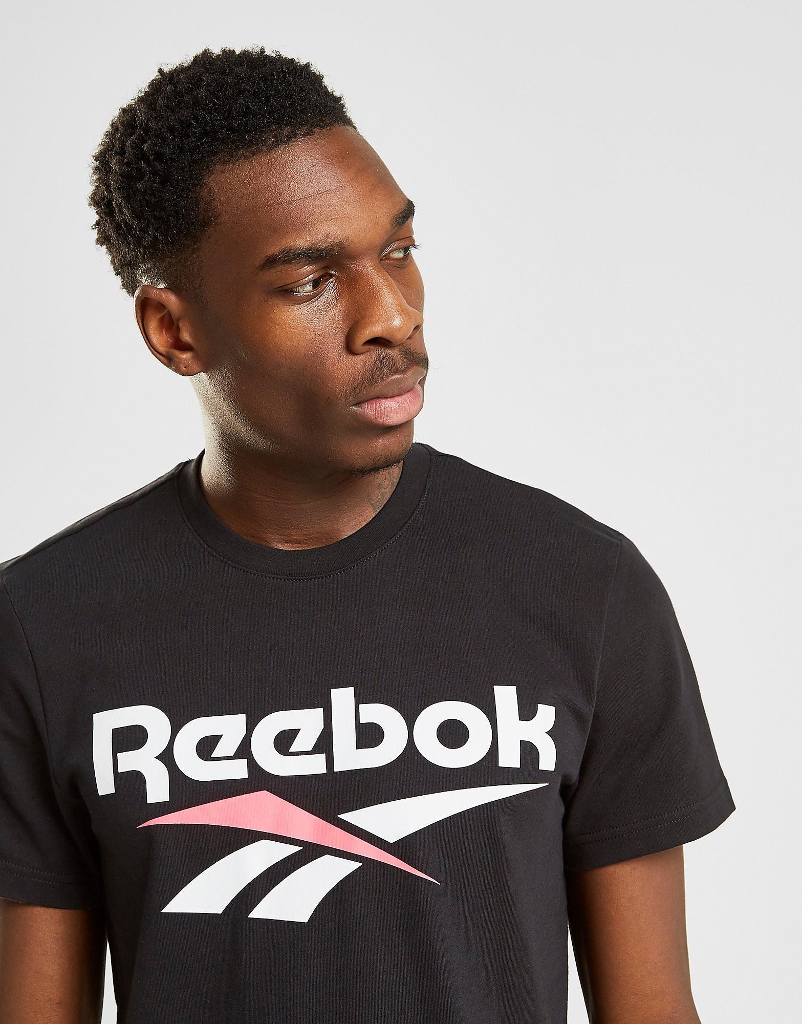 Reebok Classic Vector T-Shirt Heren - Zwart - Heren
