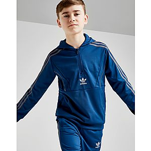 adidas Originals Speed Poly 1 2 Zip Hoodie Junior ... 0101c4103